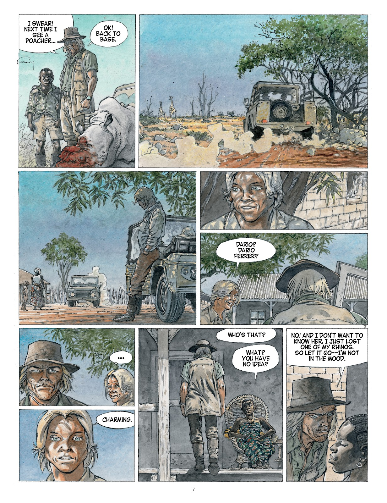 Read online Afrika comic -  Issue # TPB - 7