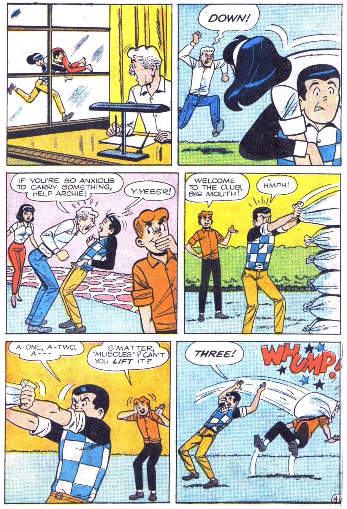 Read online Archie (1960) comic -  Issue #161 - 6