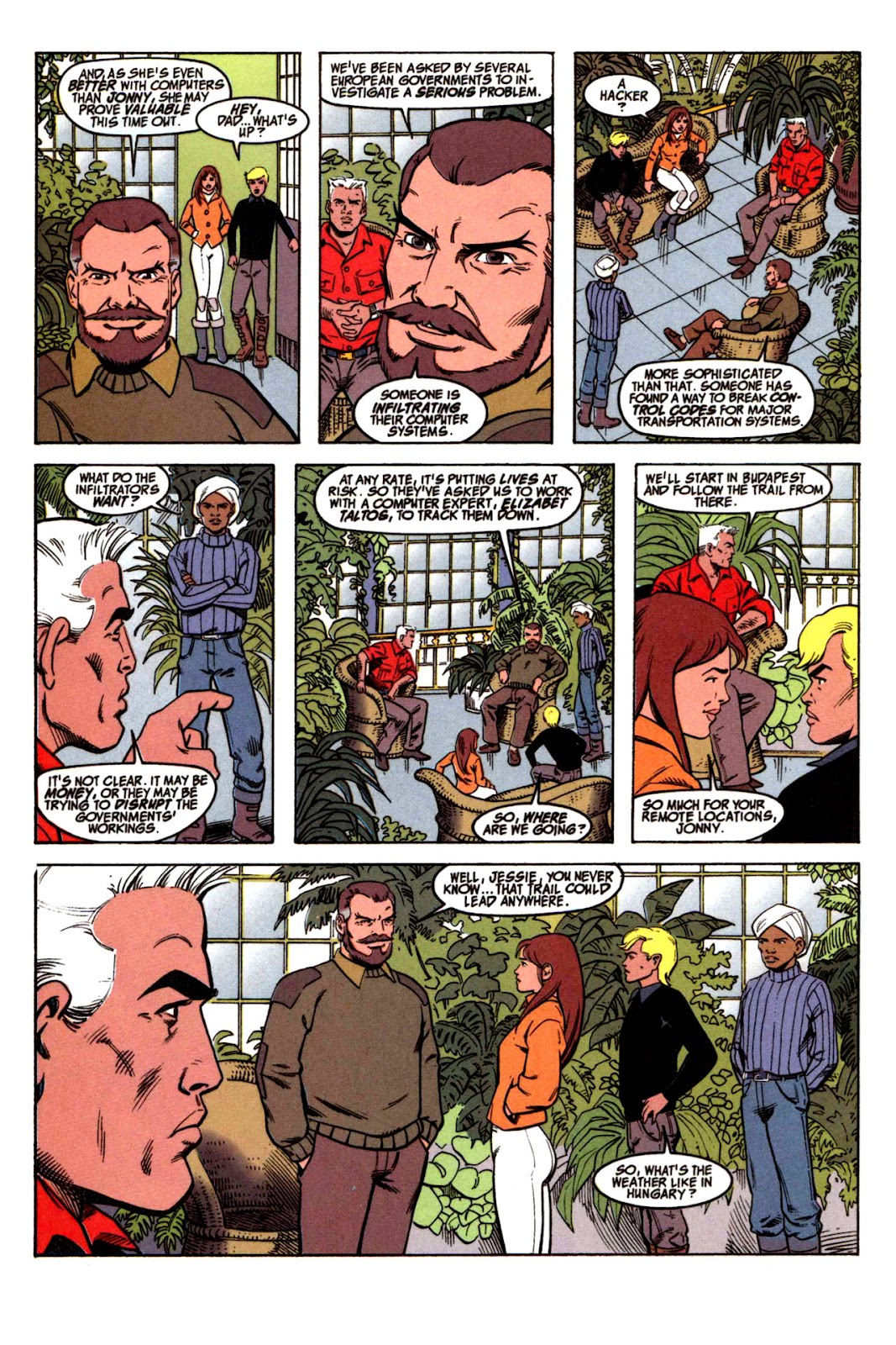 Read online The Real Adventures of Jonny Quest comic -  Issue #1 - 4