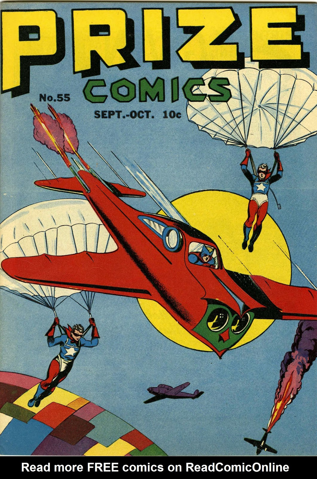 Prize Comics 55 Page 1