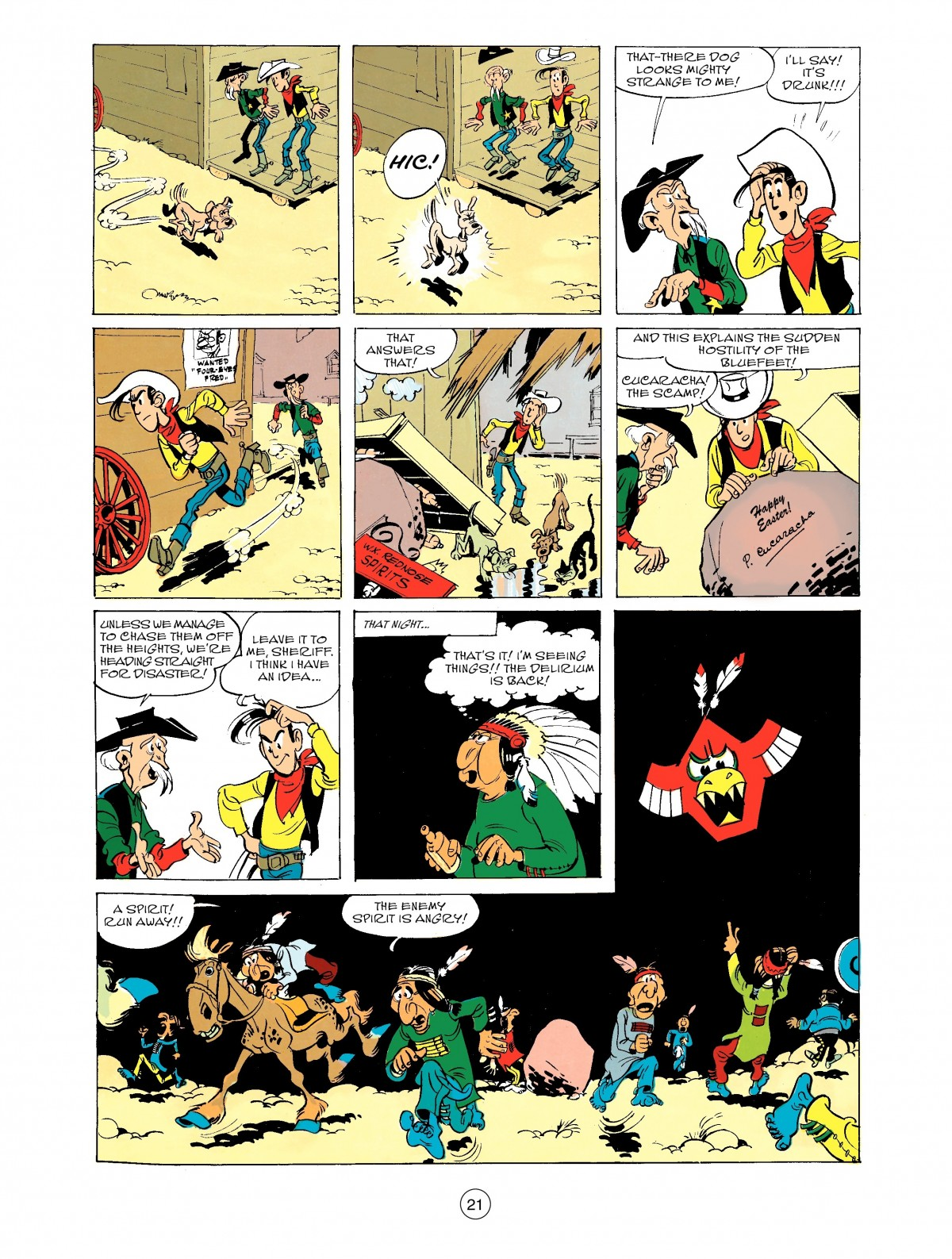 Read online A Lucky Luke Adventure comic -  Issue #43 - 21
