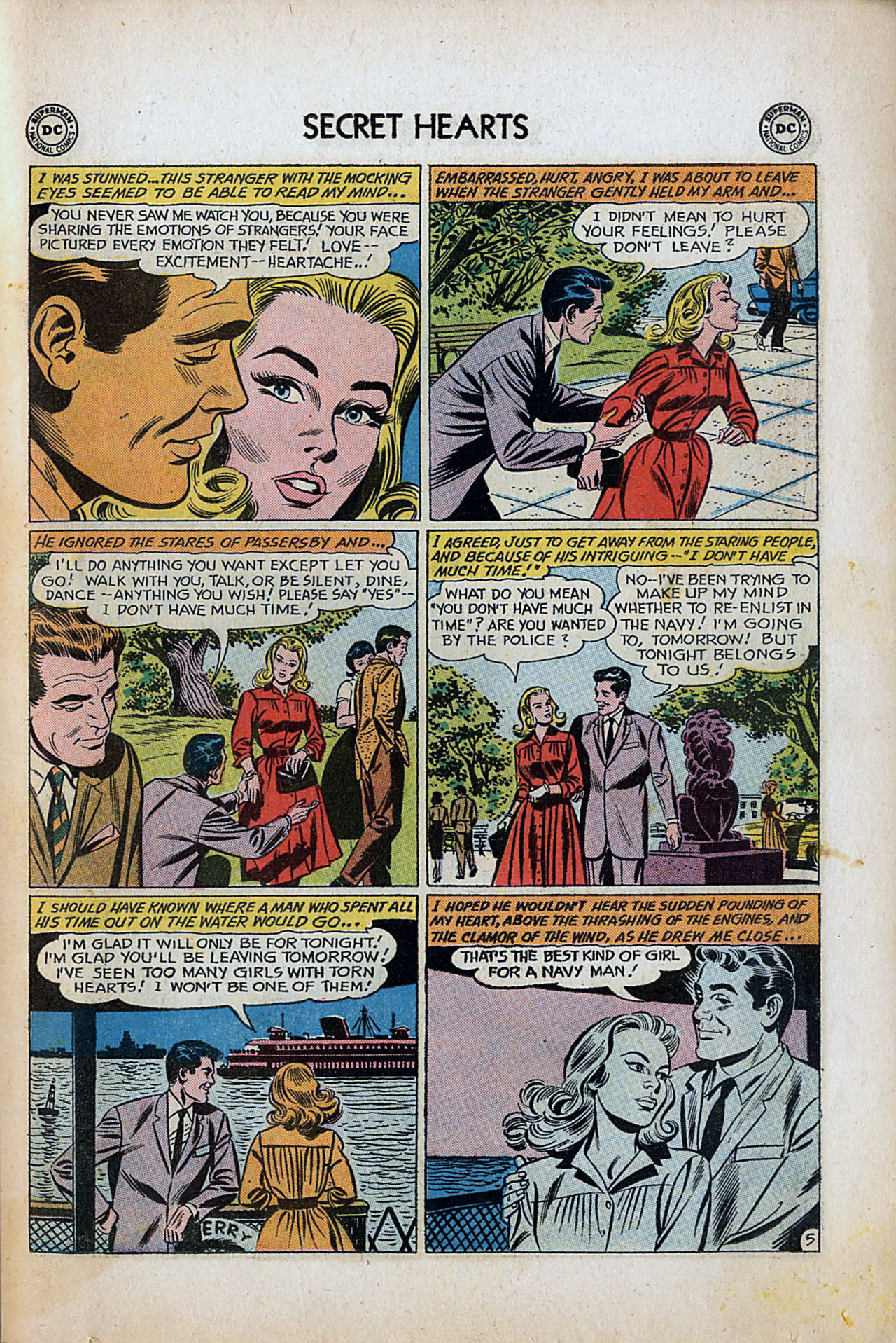 Read online Secret Hearts comic -  Issue #80 - 31