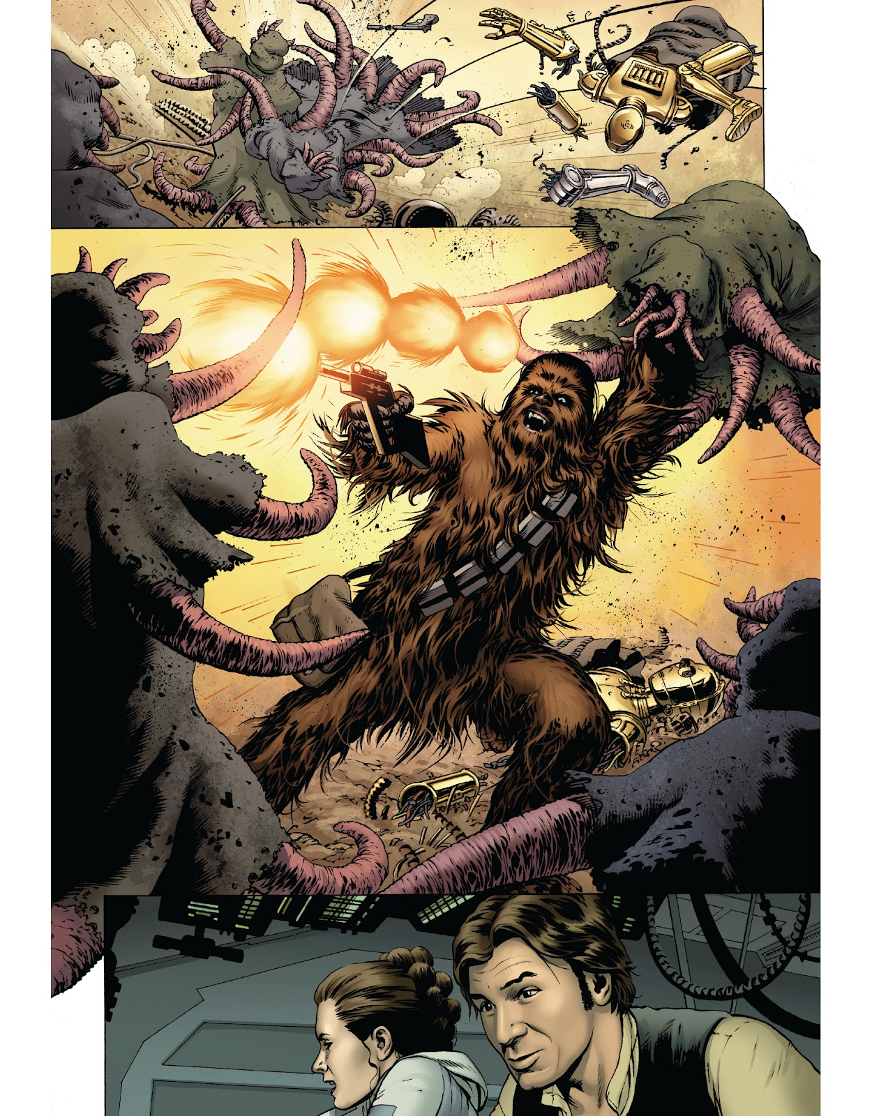 Read online The Marvel Art of Star Wars comic -  Issue # TPB (Part 1) - 24