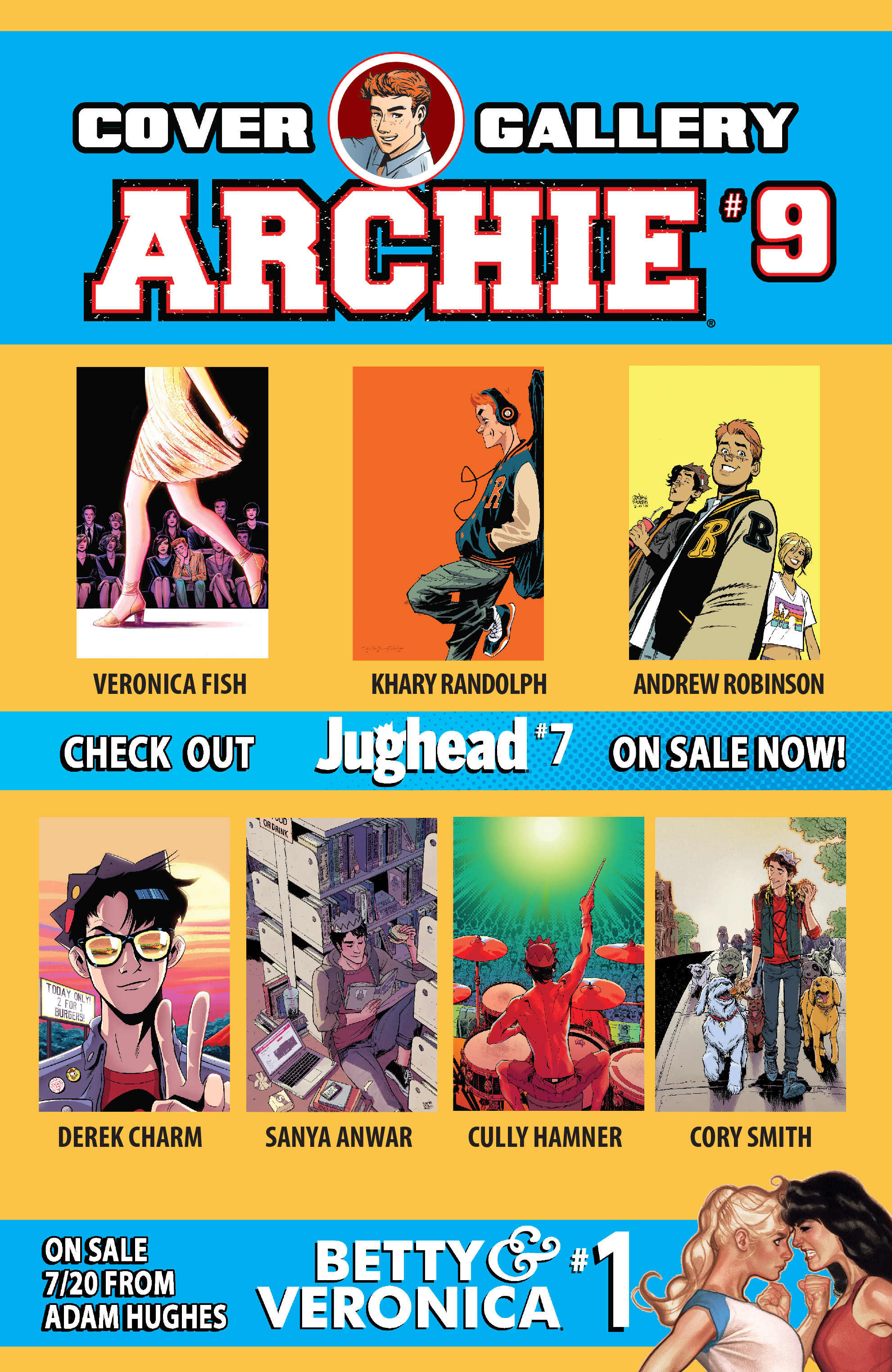 Read online Archie (2015) comic -  Issue #9 - 31