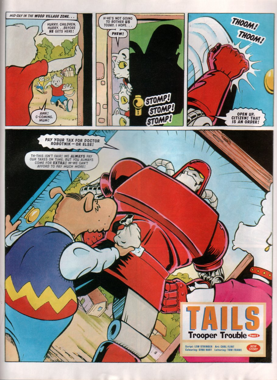 Read online Sonic the Comic comic -  Issue #85 - 19