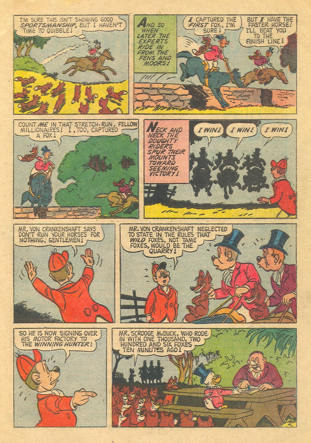 Read online Uncle Scrooge (1953) comic -  Issue #30 - 33