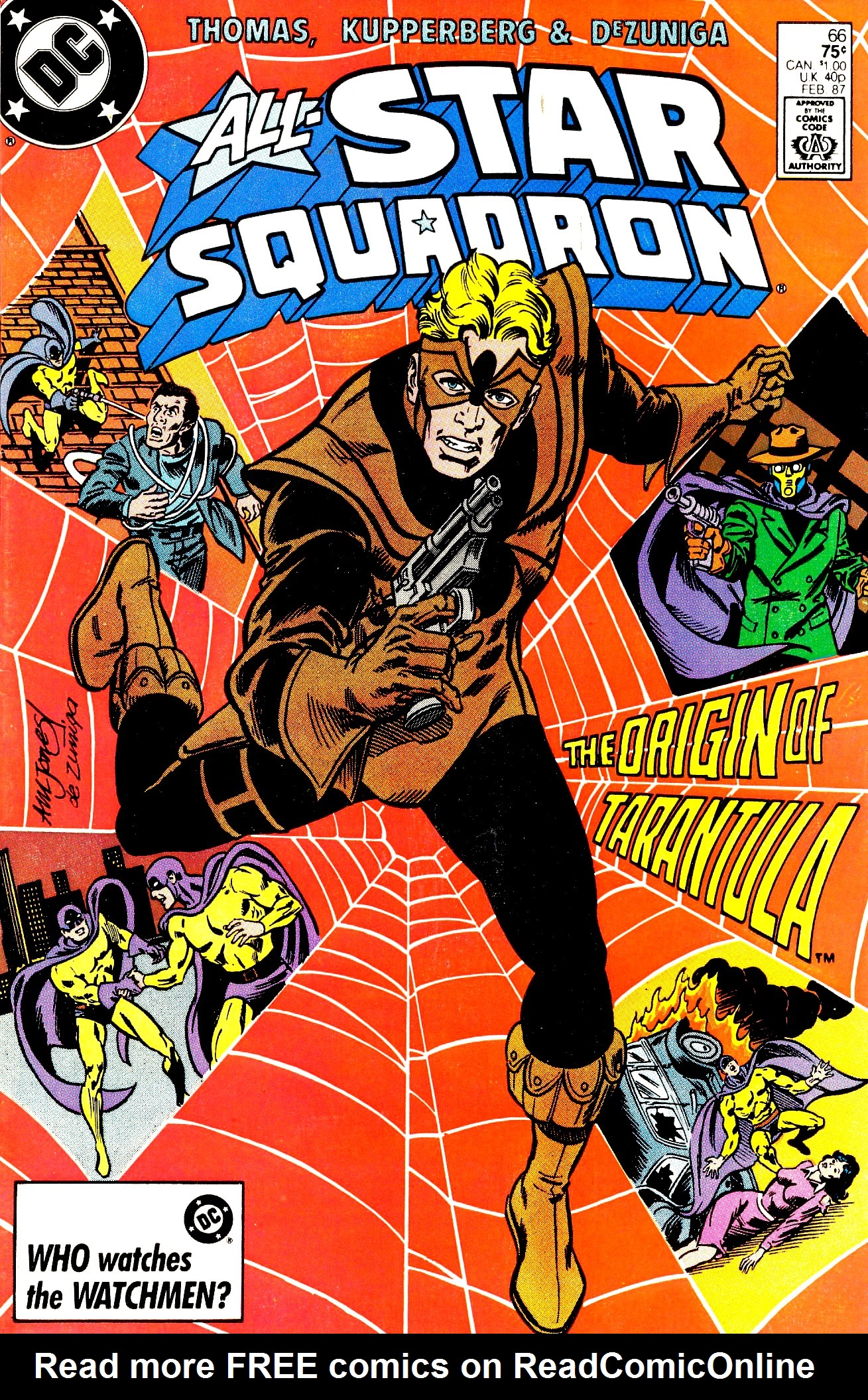 Read online All-Star Squadron comic -  Issue #66 - 1