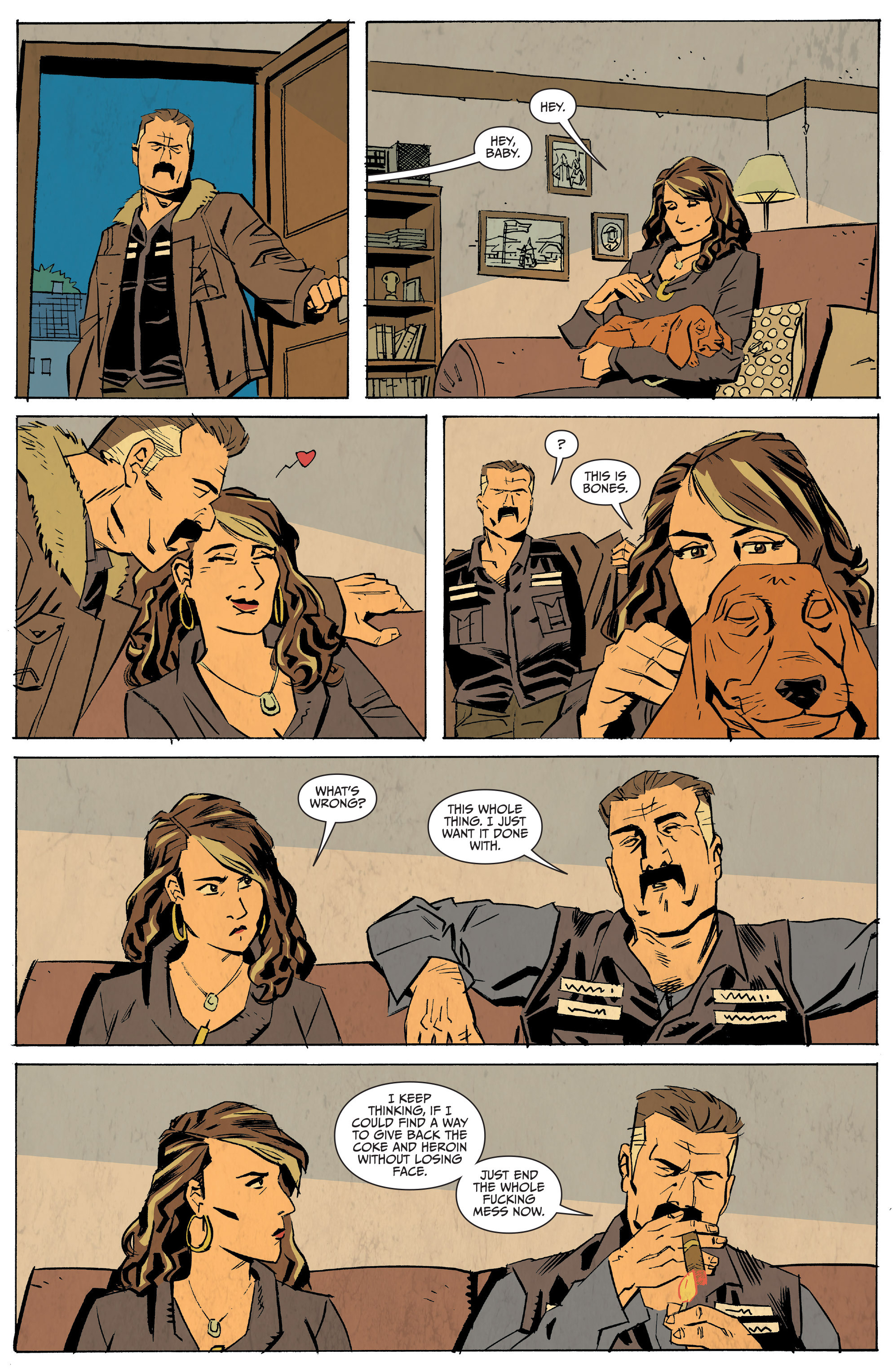 Read online Sons of Anarchy: Redwood Original comic -  Issue #5 - 20