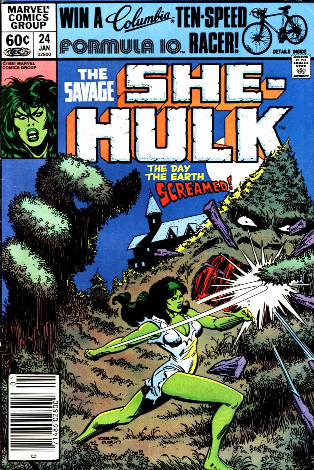 The Savage She-Hulk 24 Page 1