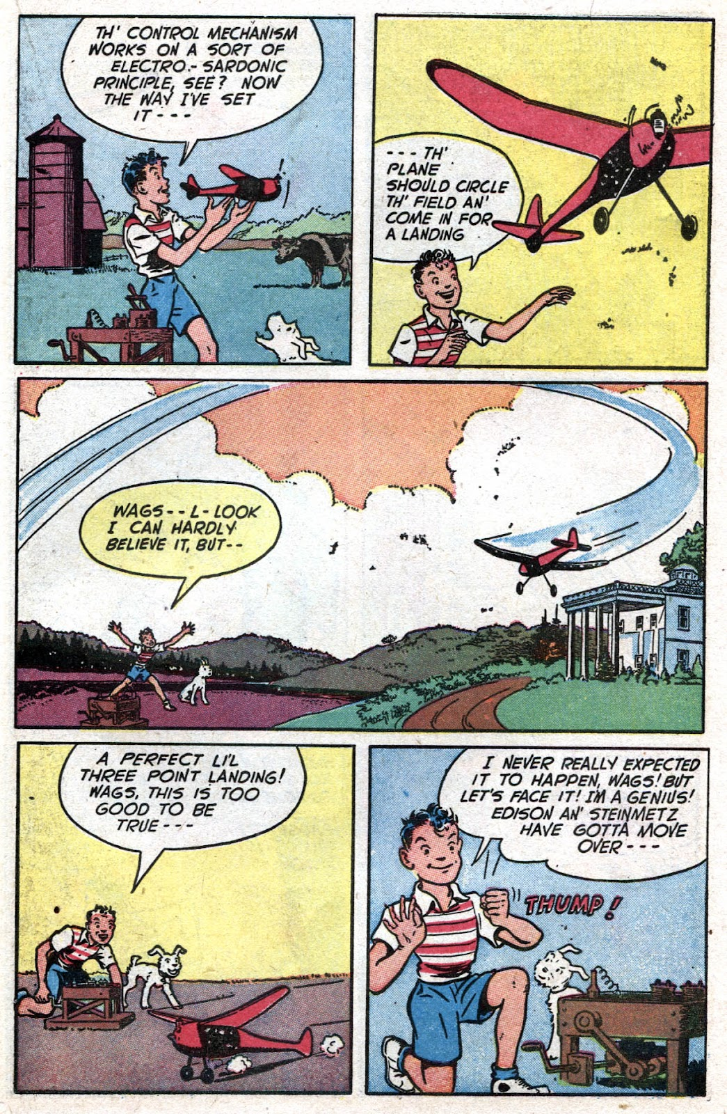 Read online Famous Funnies comic -  Issue #164 - 31