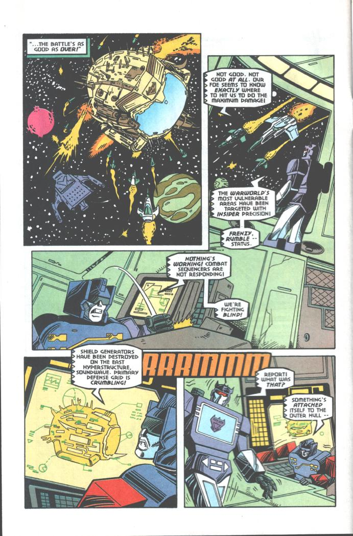 Read online Transformers: Generation 2 comic -  Issue #10 - 5