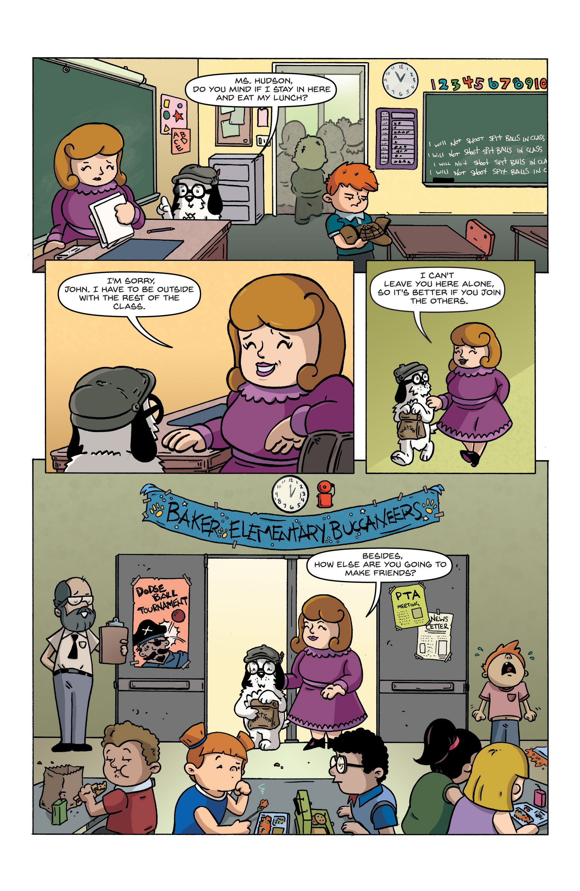 Read online Kid Sherlock comic -  Issue #1 - 7