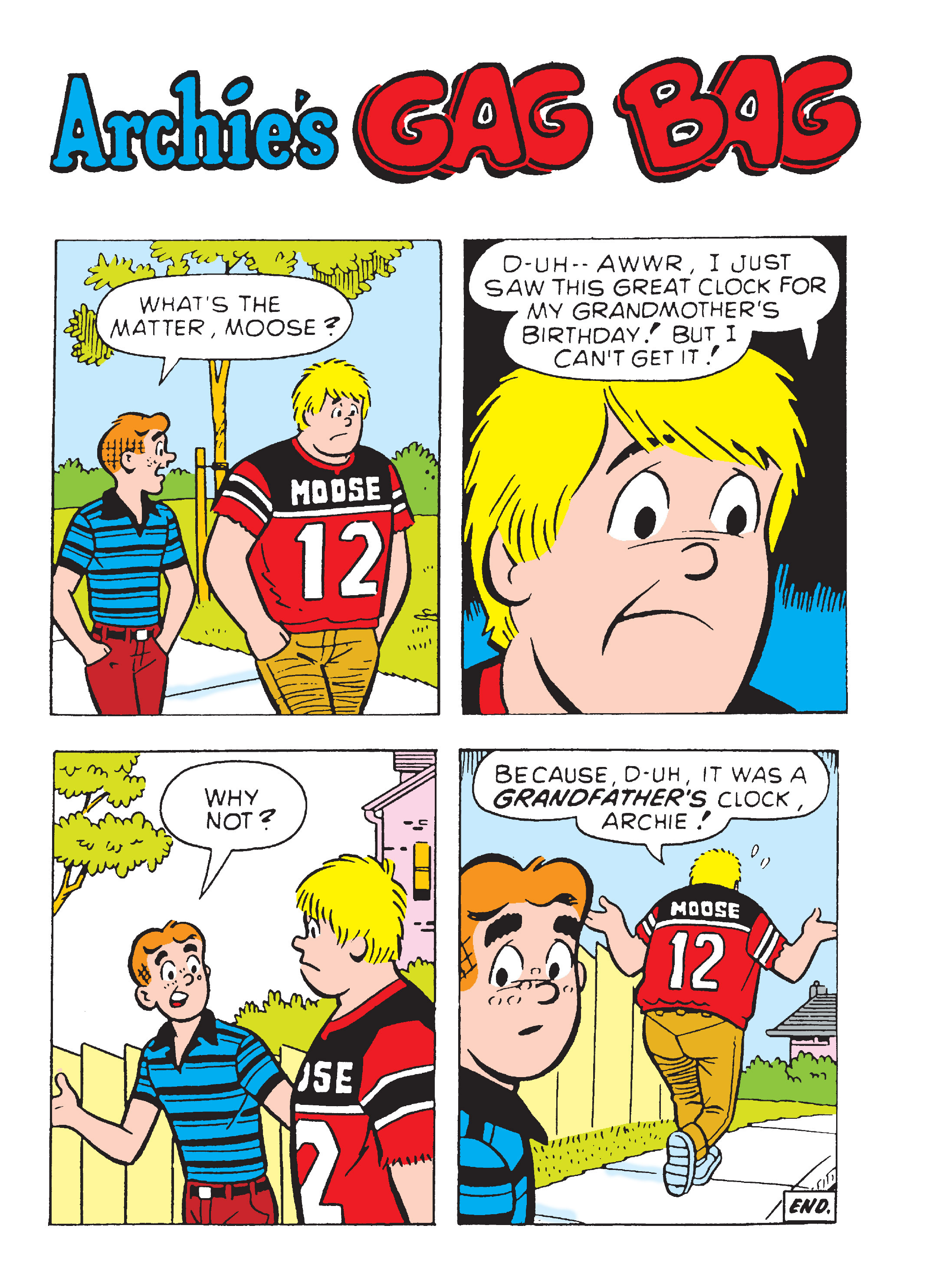 Read online Archie's Funhouse Double Digest comic -  Issue #17 - 124