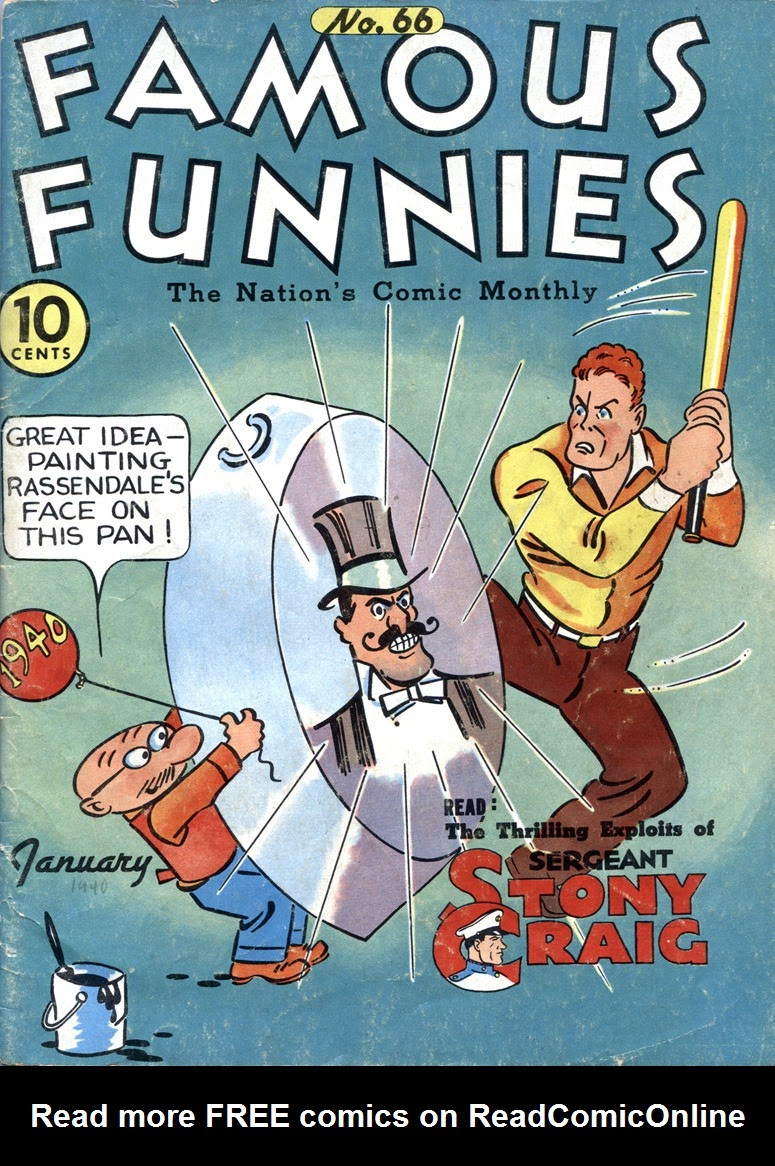 Read online Famous Funnies comic -  Issue #66 - 1