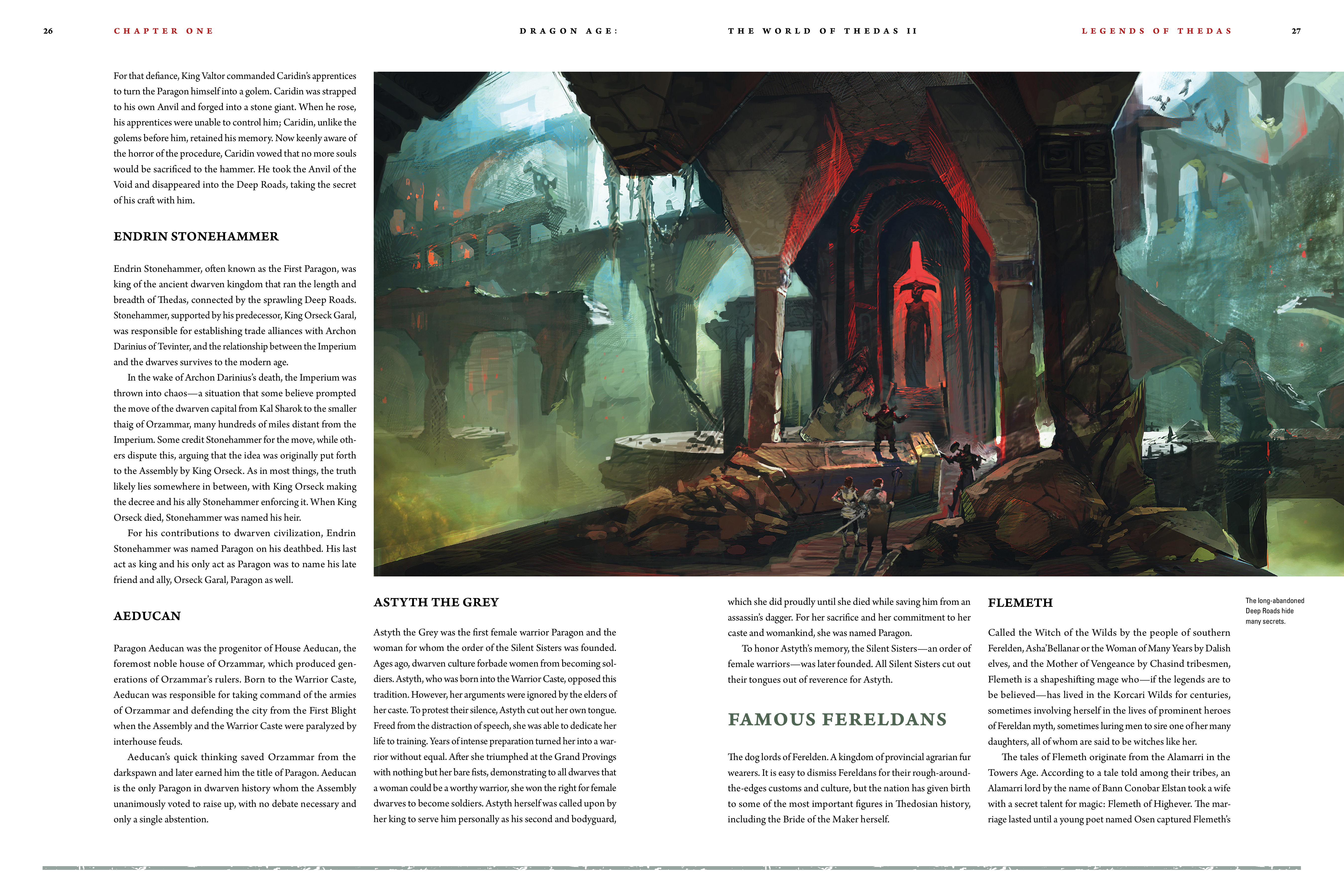 Read online Dragon Age: The World of Thedas comic -  Issue # TPB 2 - 24