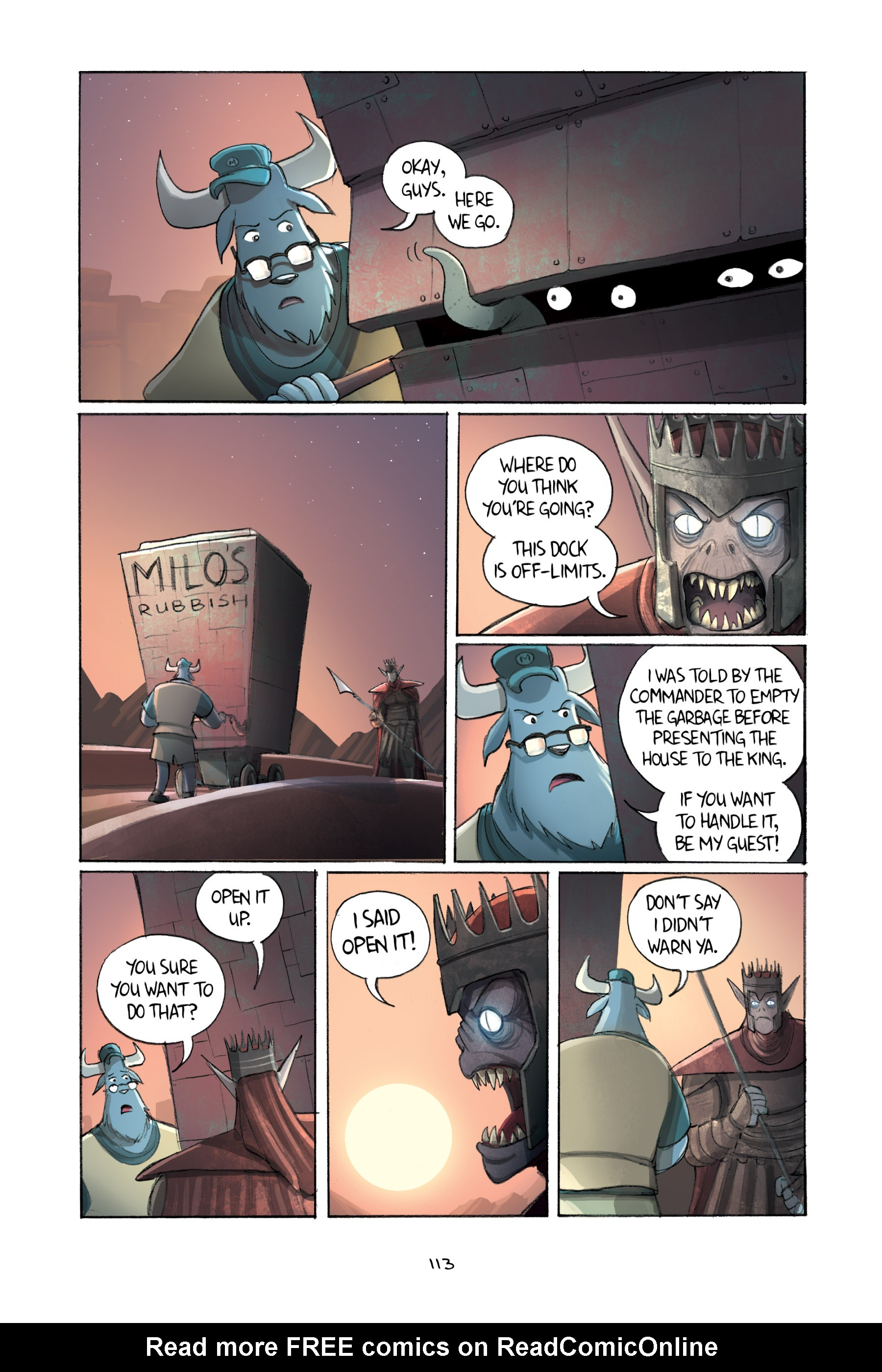 Read online Amulet comic -  Issue #2 - 113