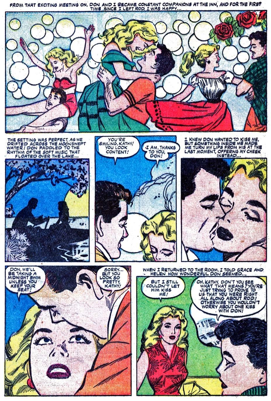 Love Romances (1949) issue 52 - Page 7
