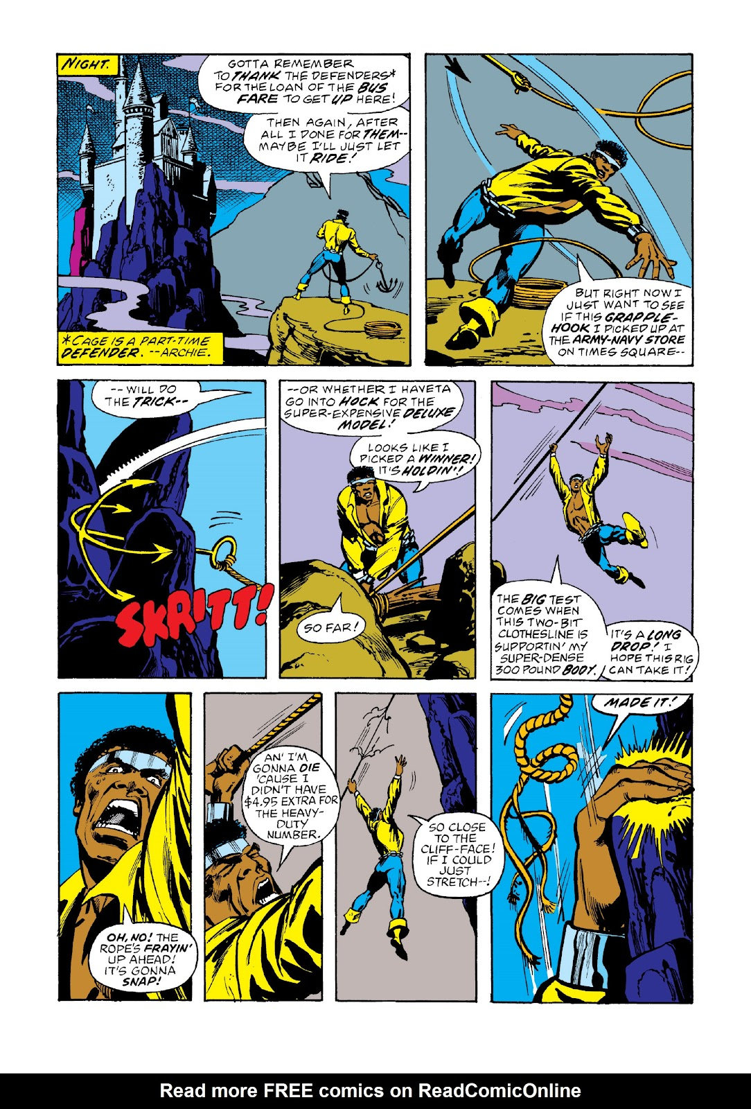 Read online Marvel Masterworks: Luke Cage, Power Man comic -  Issue # TPB 3 (Part 2) - 66