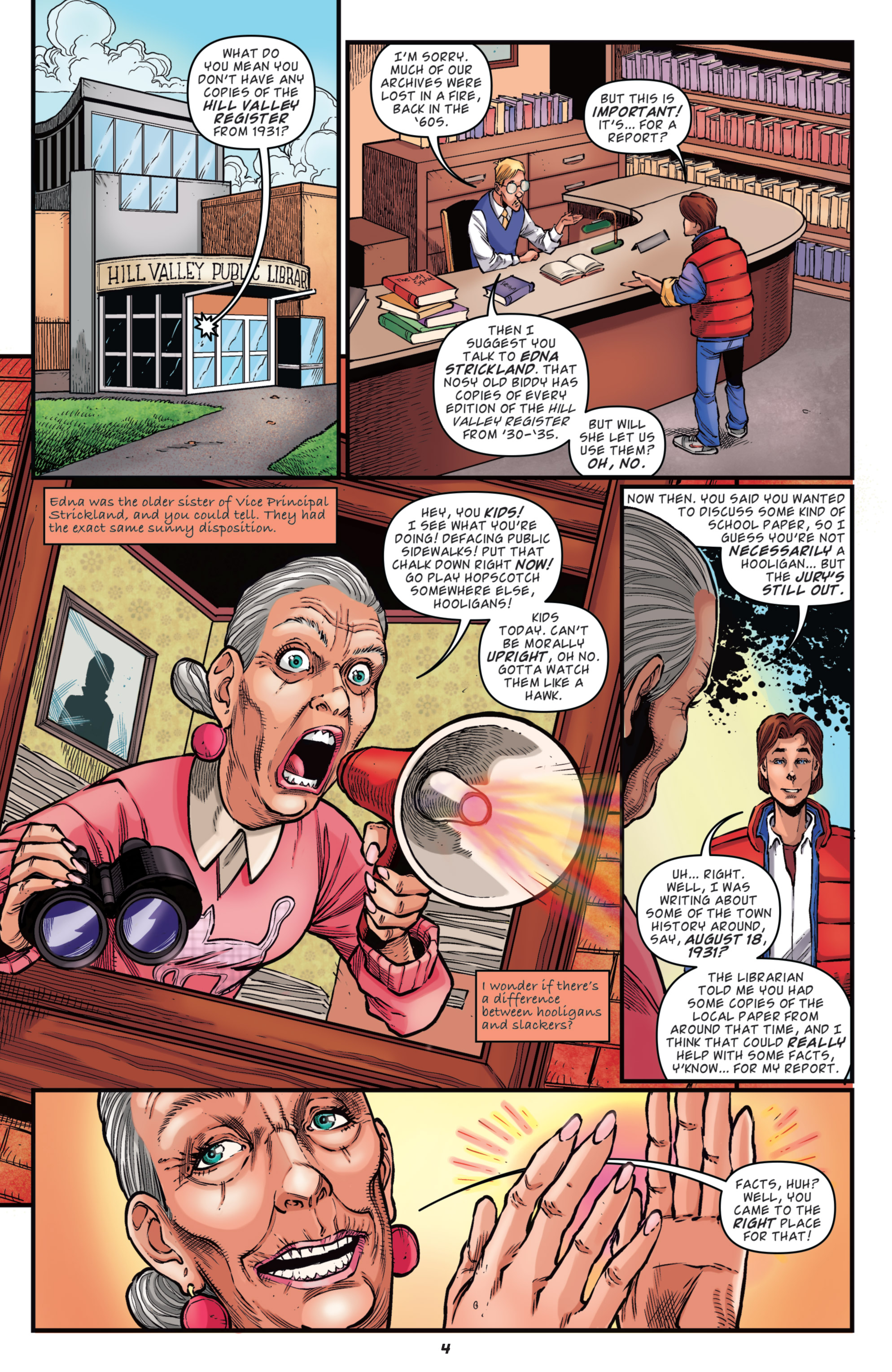 Read online Back to the Future: Biff to the Future comic -  Issue #5 - 28