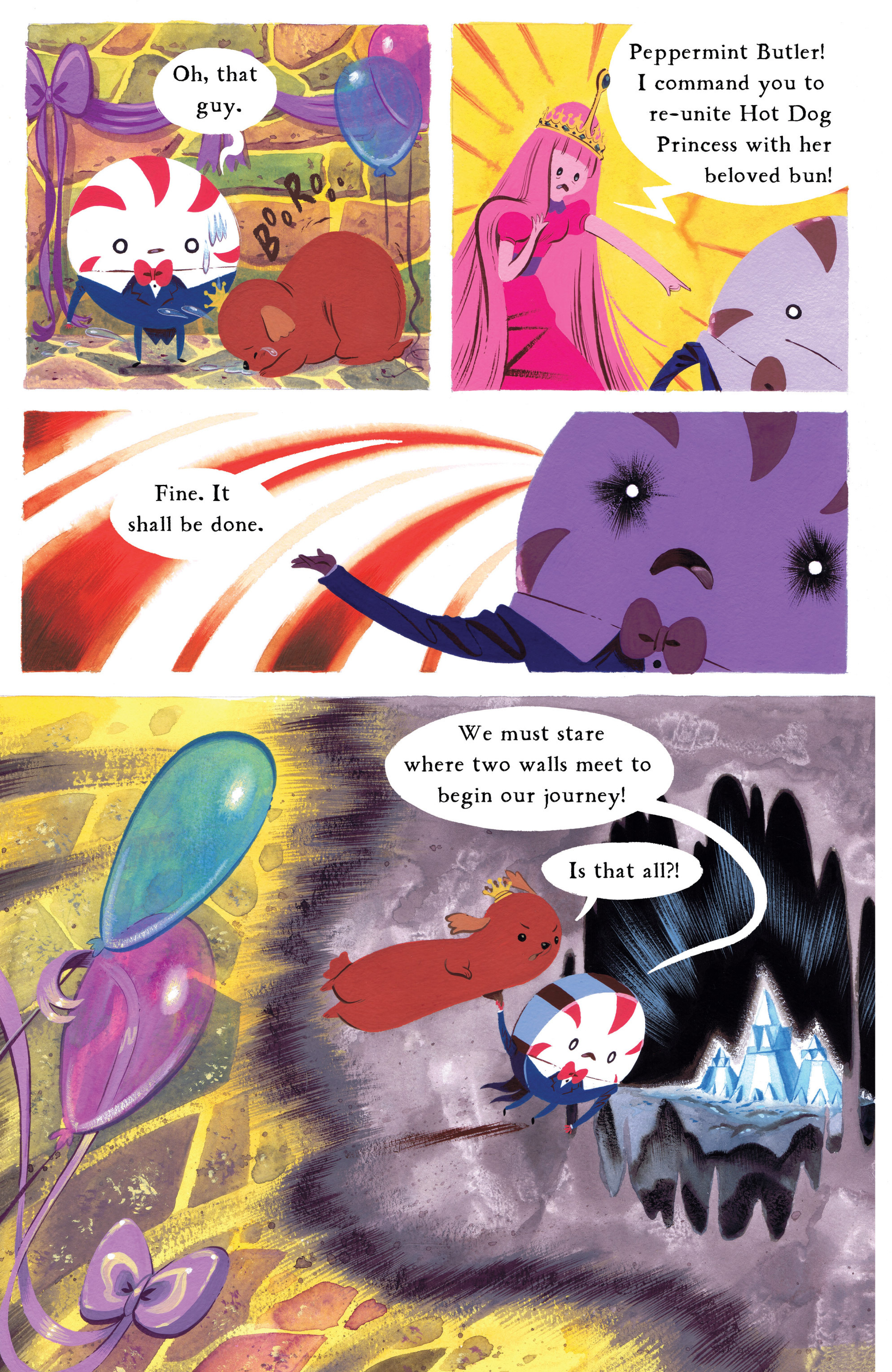 Read online Adventure Time comic -  Issue #8 - 23