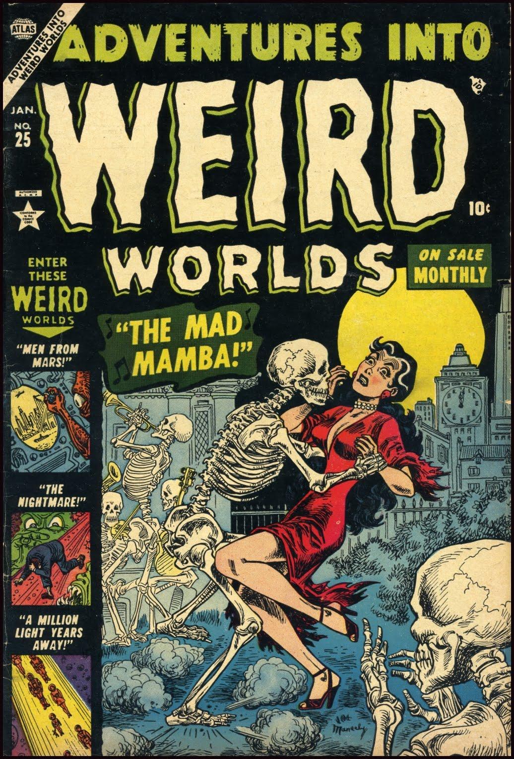 Read online Adventures into Weird Worlds comic -  Issue #25 - 1