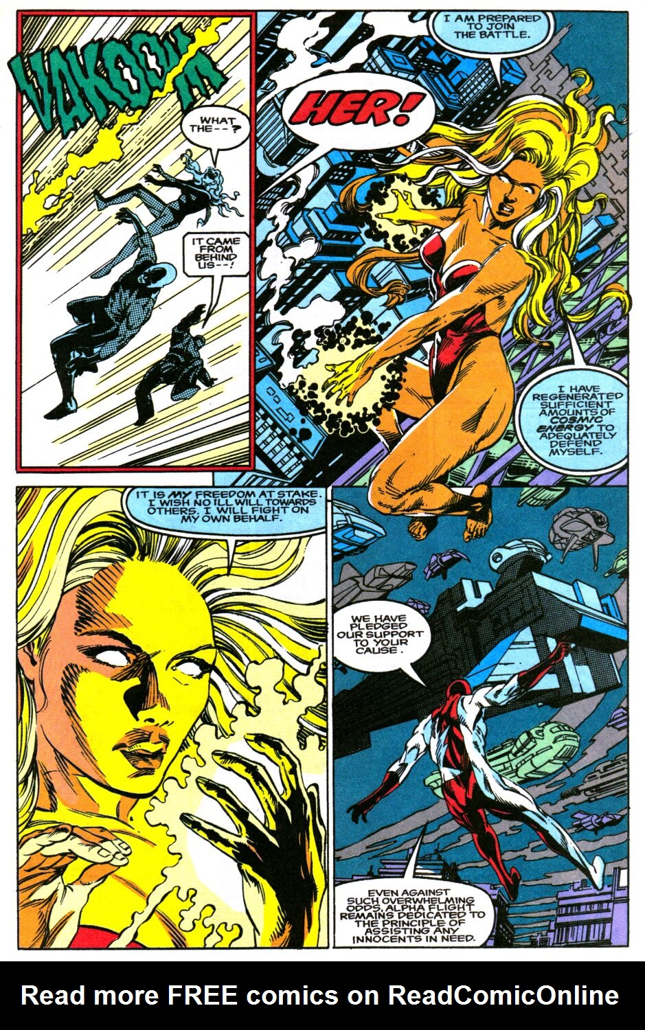 Read online Alpha Flight Special comic -  Issue #2 - 4