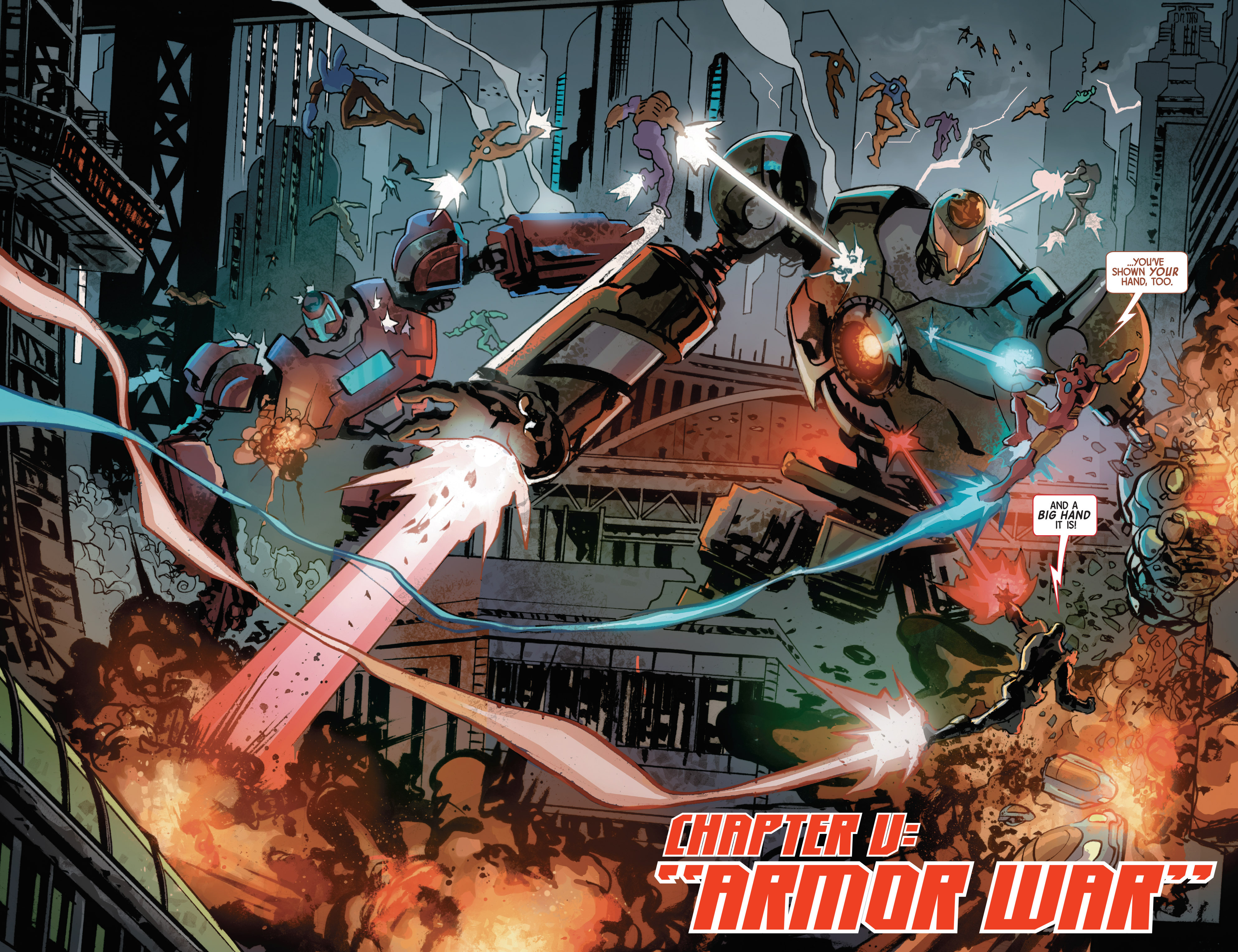 Read online Armor Wars comic -  Issue #5 - 4