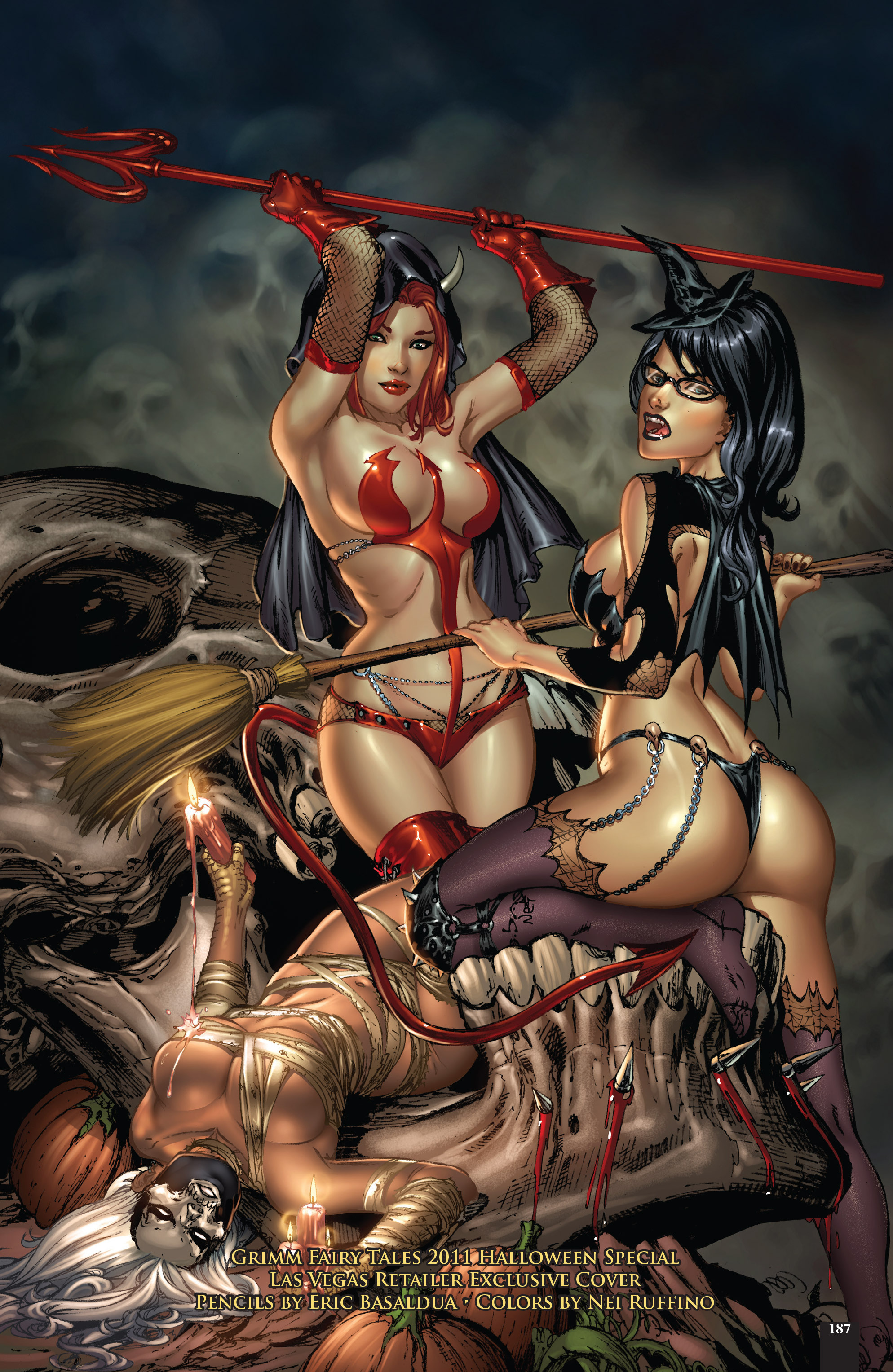 Read online Grimm Fairy Tales: Different Seasons comic -  Issue # TPB 2 - 184