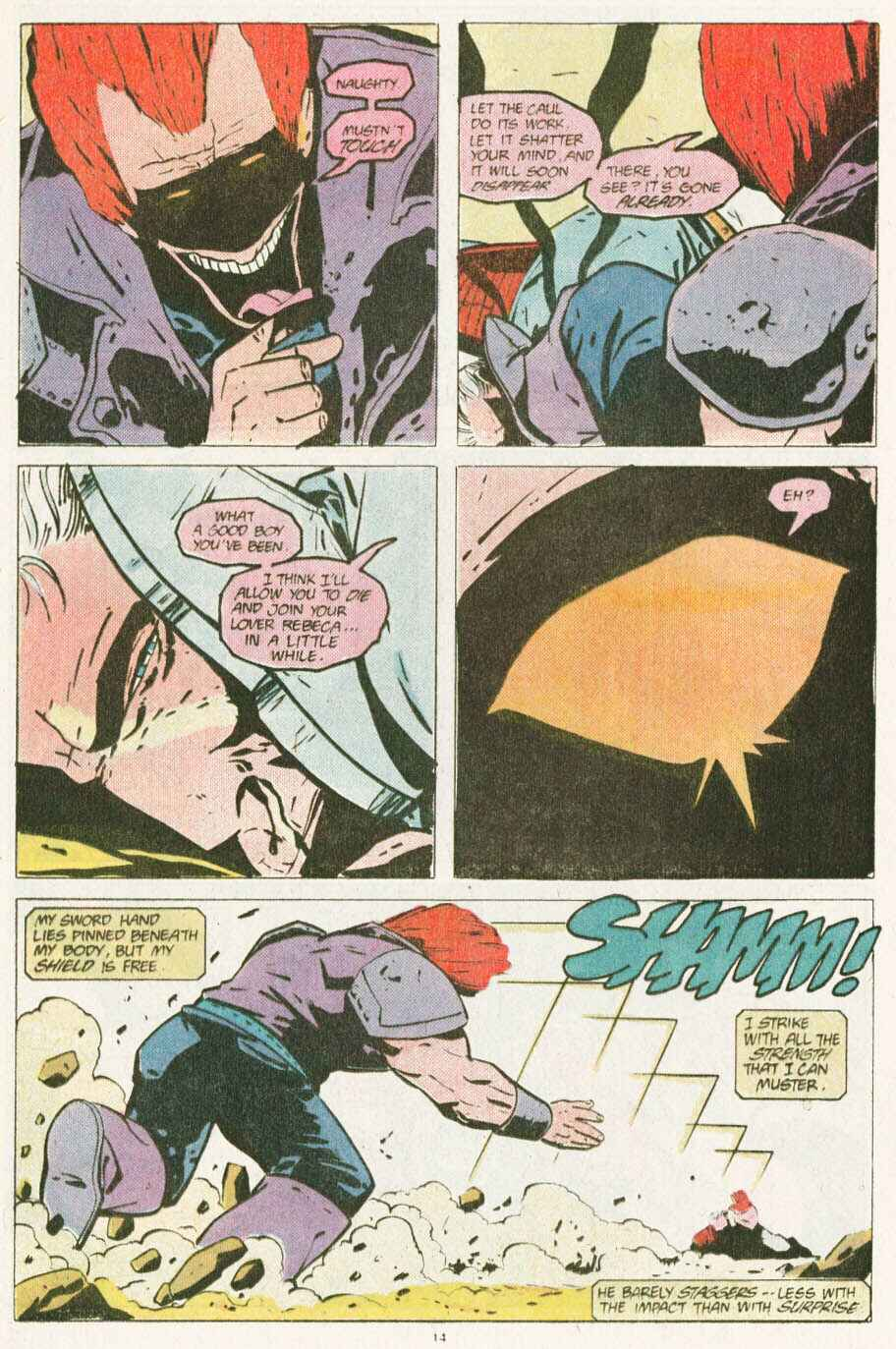 Read online Justice (1986) comic -  Issue #10 - 15