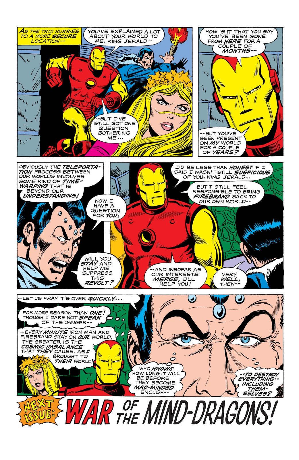 Read online Marvel Masterworks: The Invincible Iron Man comic -  Issue # TPB 10 (Part 3) - 31