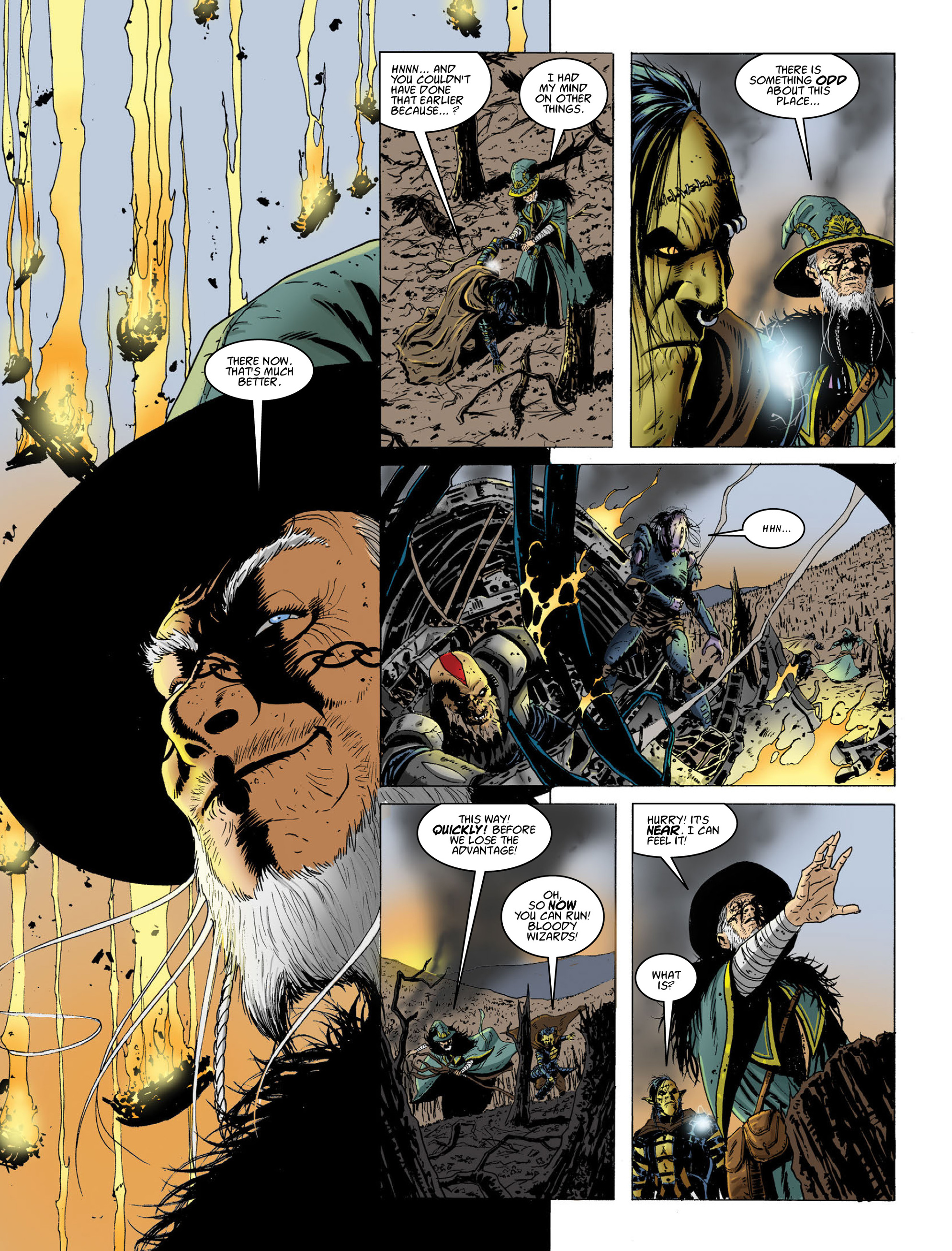 Read online 2000 AD comic -  Issue #2014 - 13