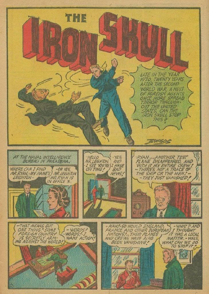 Read online Amazing Man Comics comic -  Issue #9 - 21