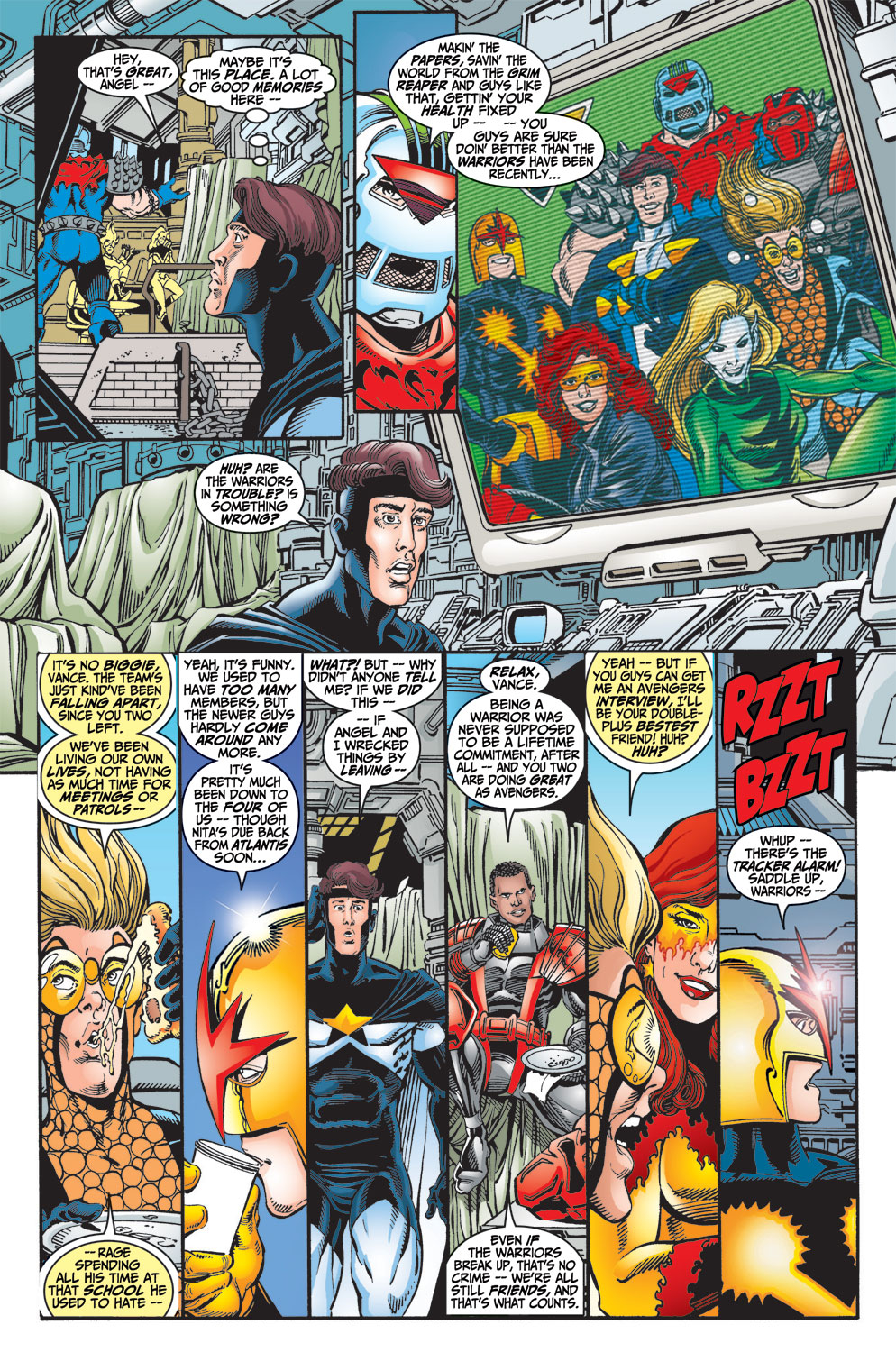 Read online Avengers (1998) comic -  Issue #13 - 7