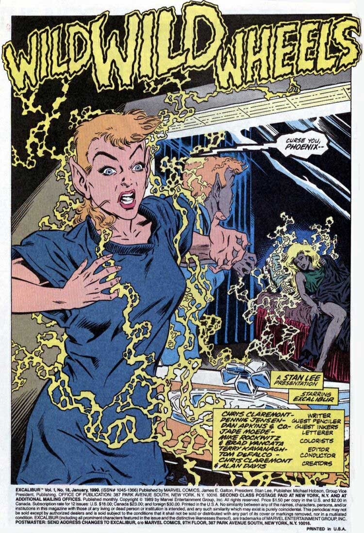 Excalibur (1988) issue 18 - Page 3