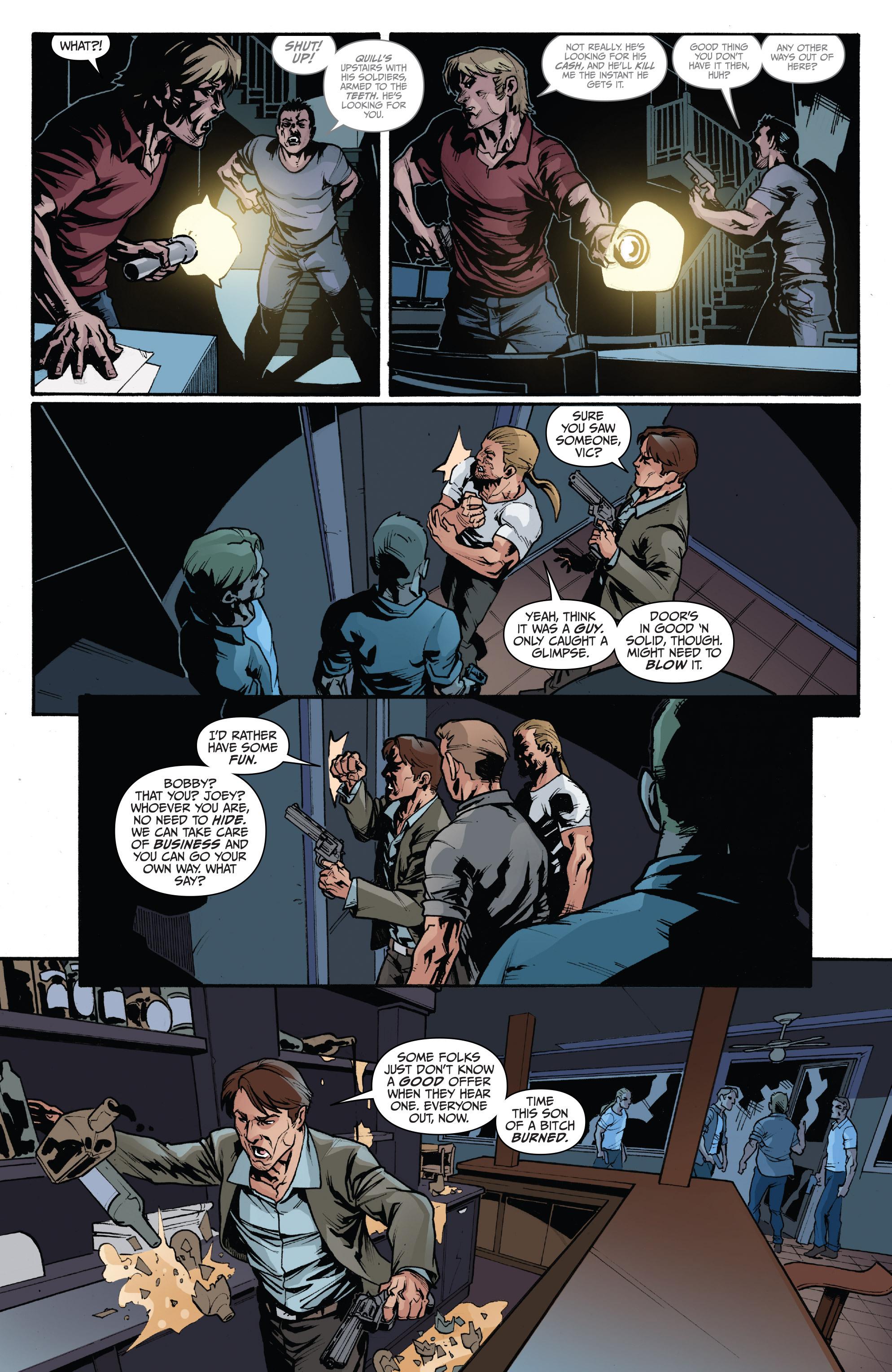 Read online 3 Guns comic -  Issue #3 - 12