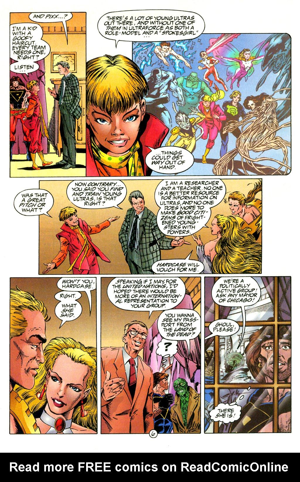 Read online UltraForce (1994) comic -  Issue #2 - 7