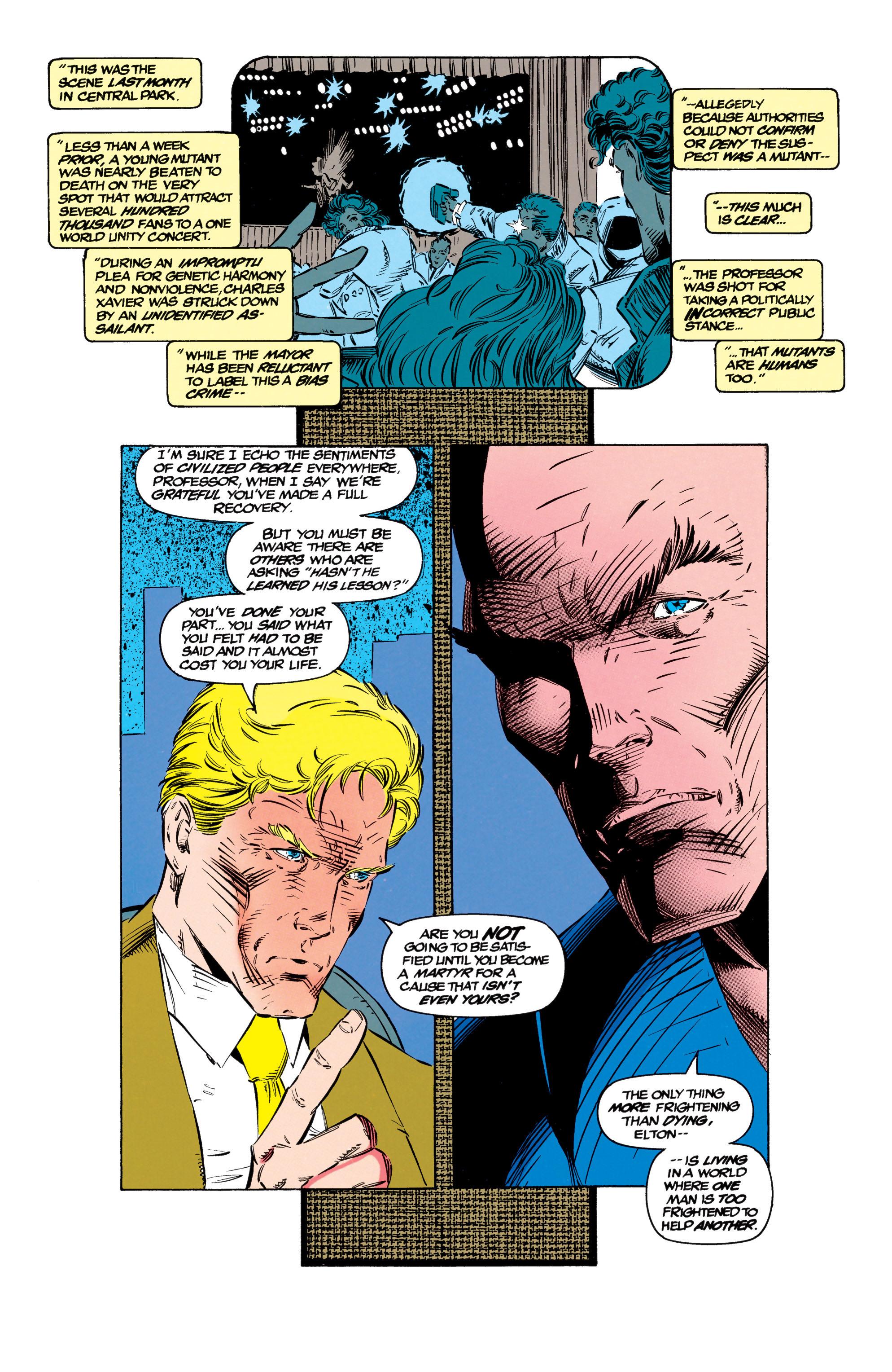 Read online Uncanny X-Men (1963) comic -  Issue #299 - 13