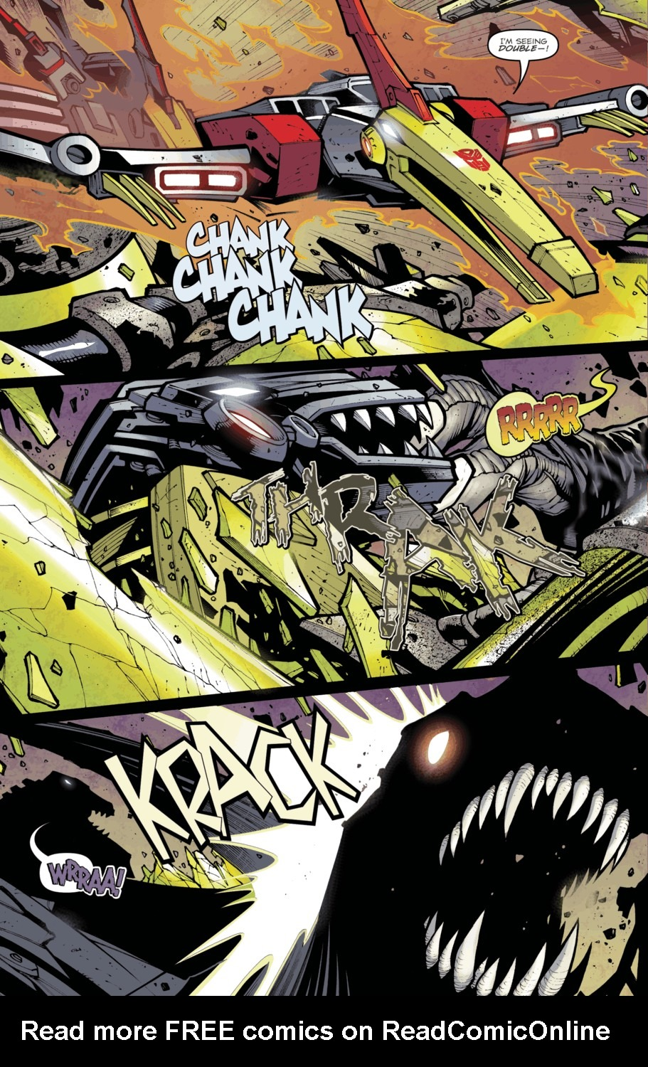 Read online Transformers Prime: Beast Hunters comic -  Issue #4 - 8
