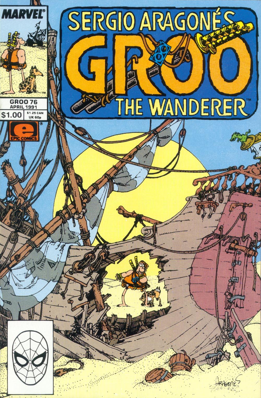 Read online Sergio Aragonés Groo the Wanderer comic -  Issue #76 - 1