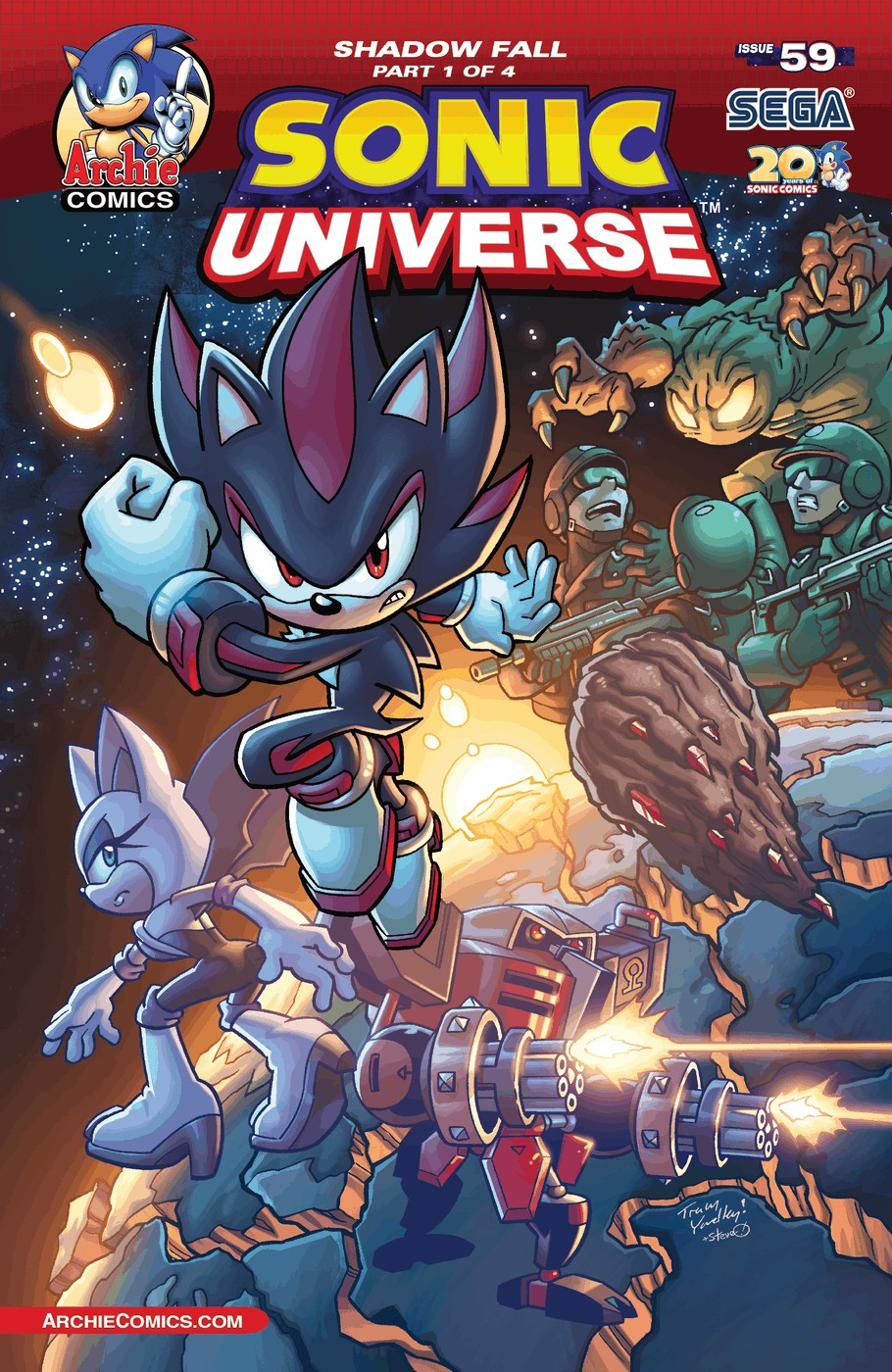 Sonic Universe 59 Page 1