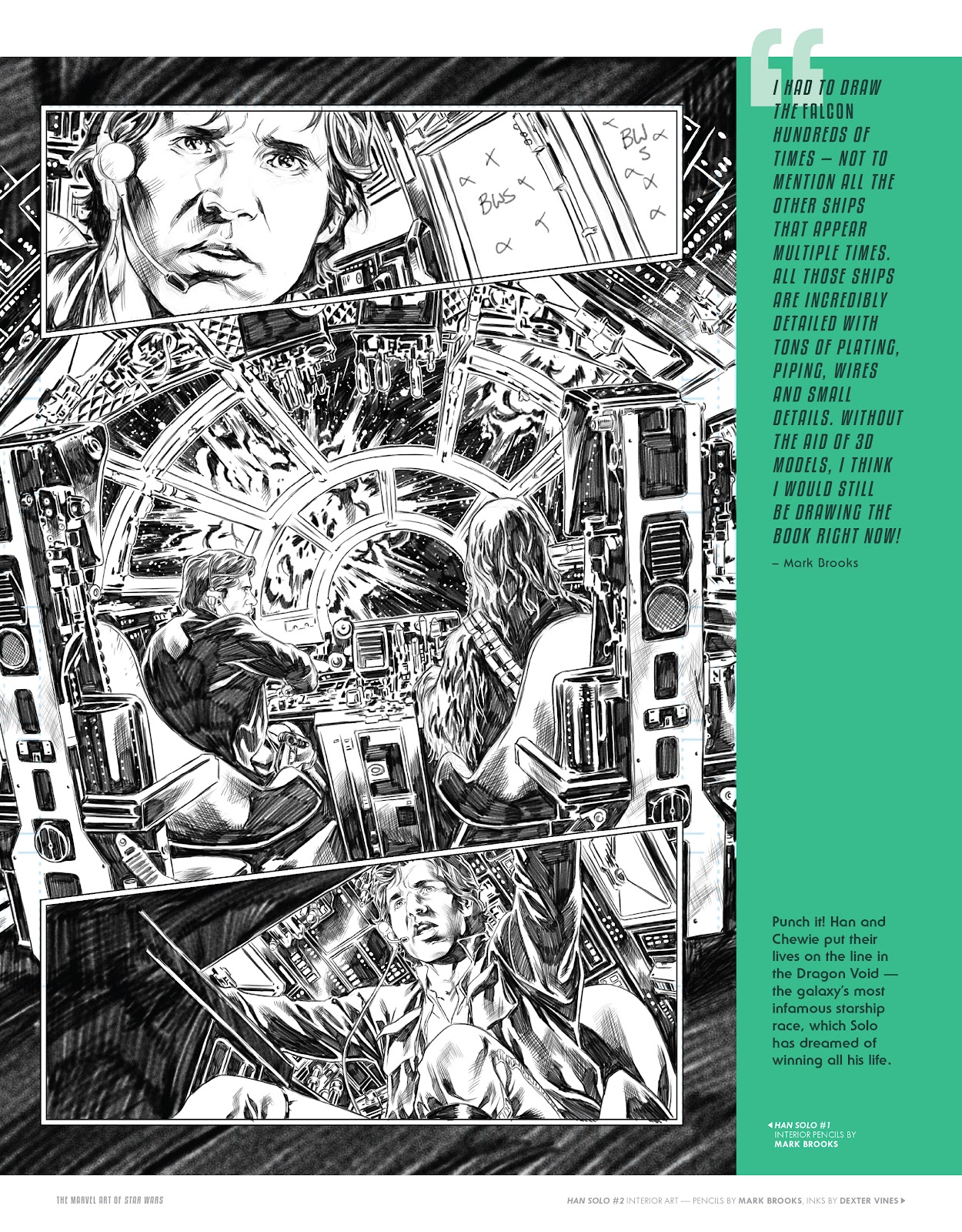 Read online The Marvel Art of Star Wars comic -  Issue # TPB (Part 2) - 41