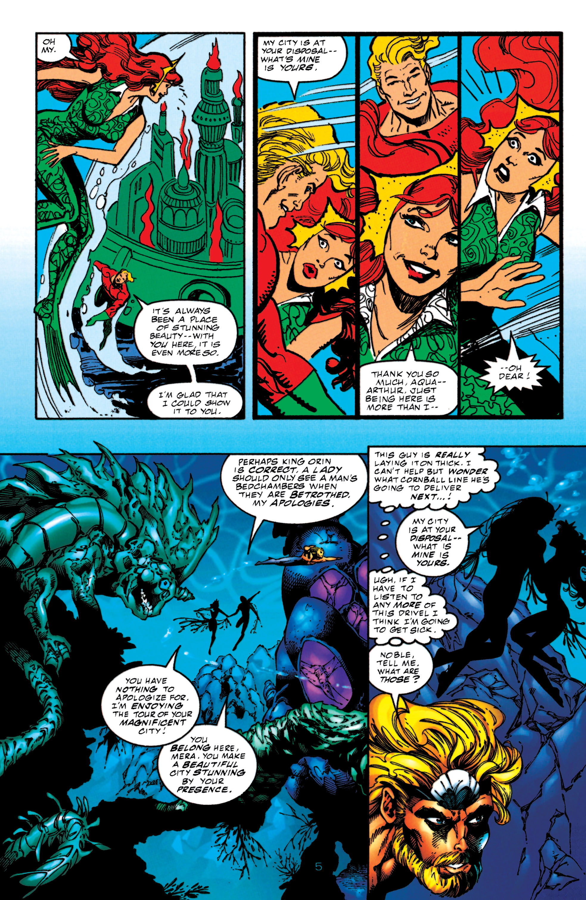 Read online Aquaman (1994) comic -  Issue #52 - 5
