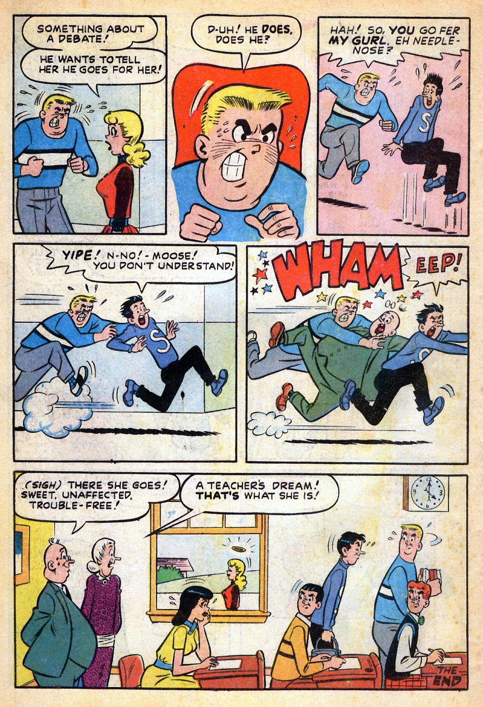 Read online Archie's Girls Betty and Veronica comic -  Issue #51 - 33