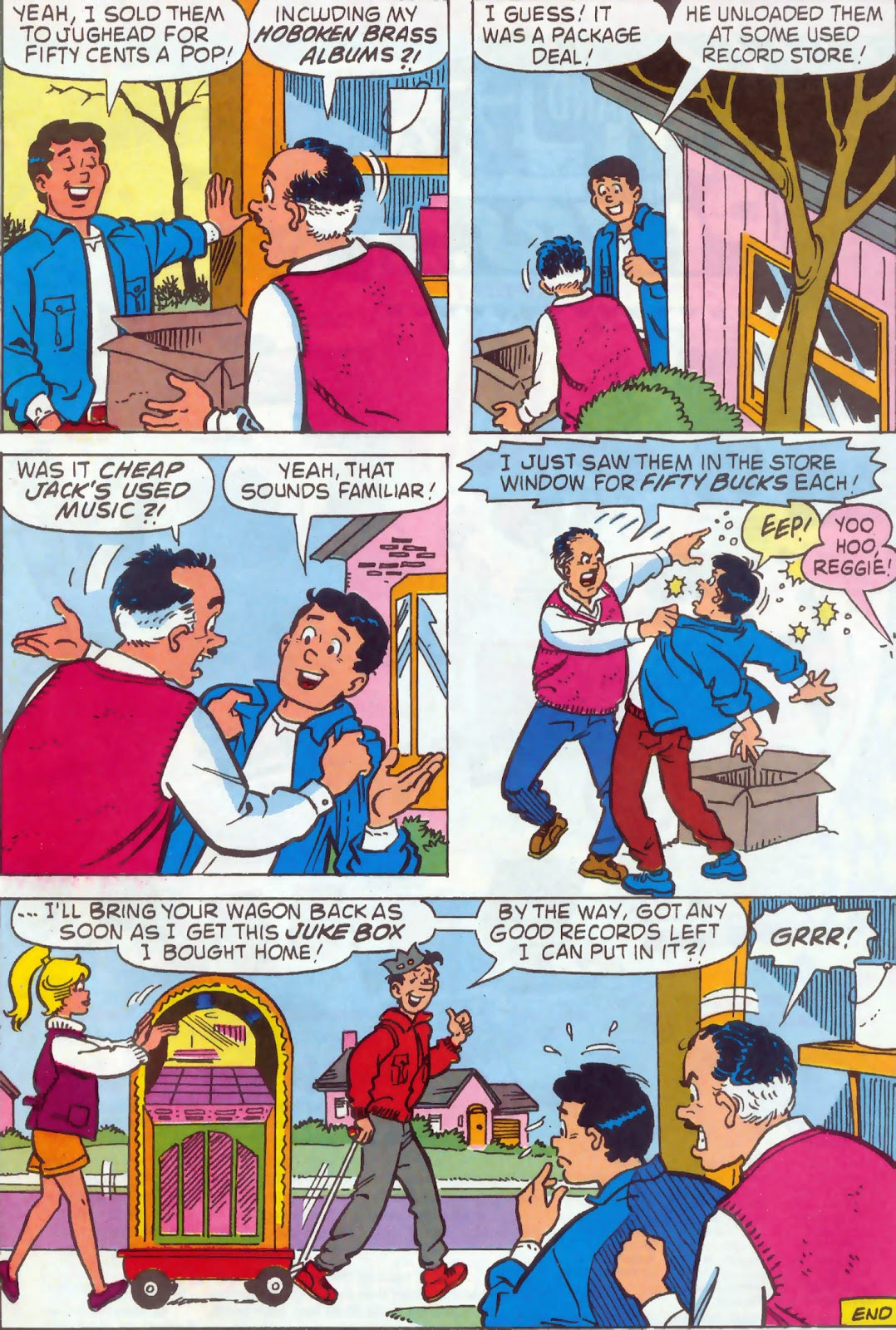 Read online Archie's Pal Jughead Comics comic -  Issue #54 - 22