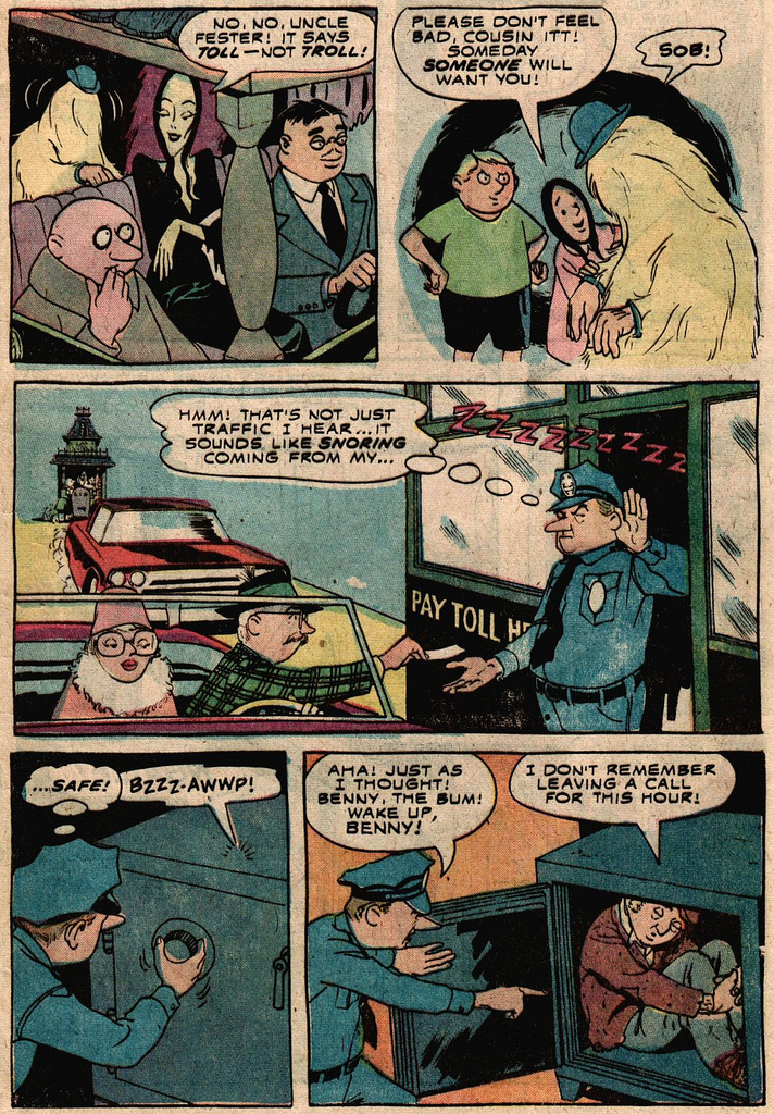 Read online Addams Family comic -  Issue #2 - 21