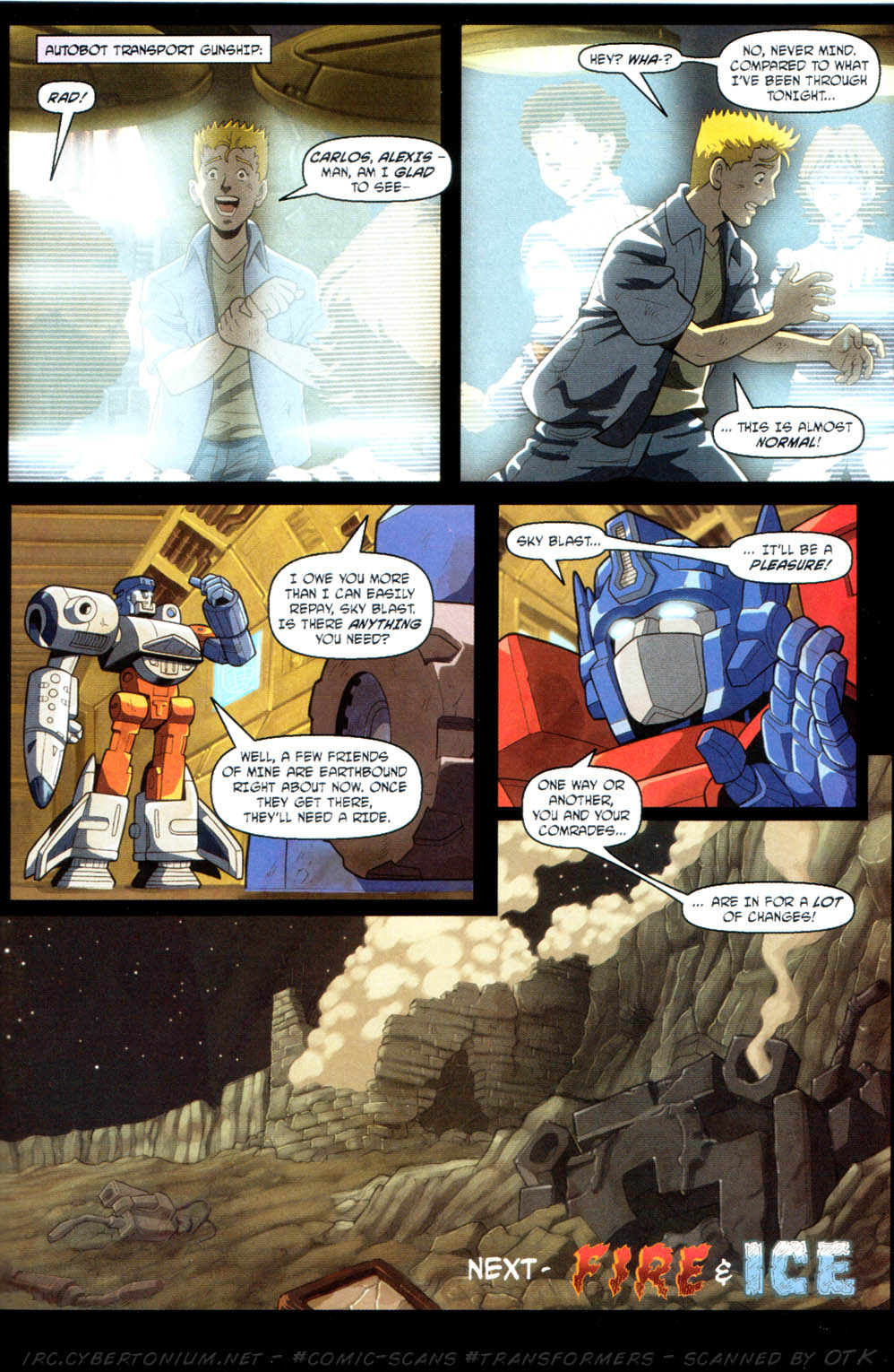 Read online Transformers Armada comic -  Issue #11 - 25