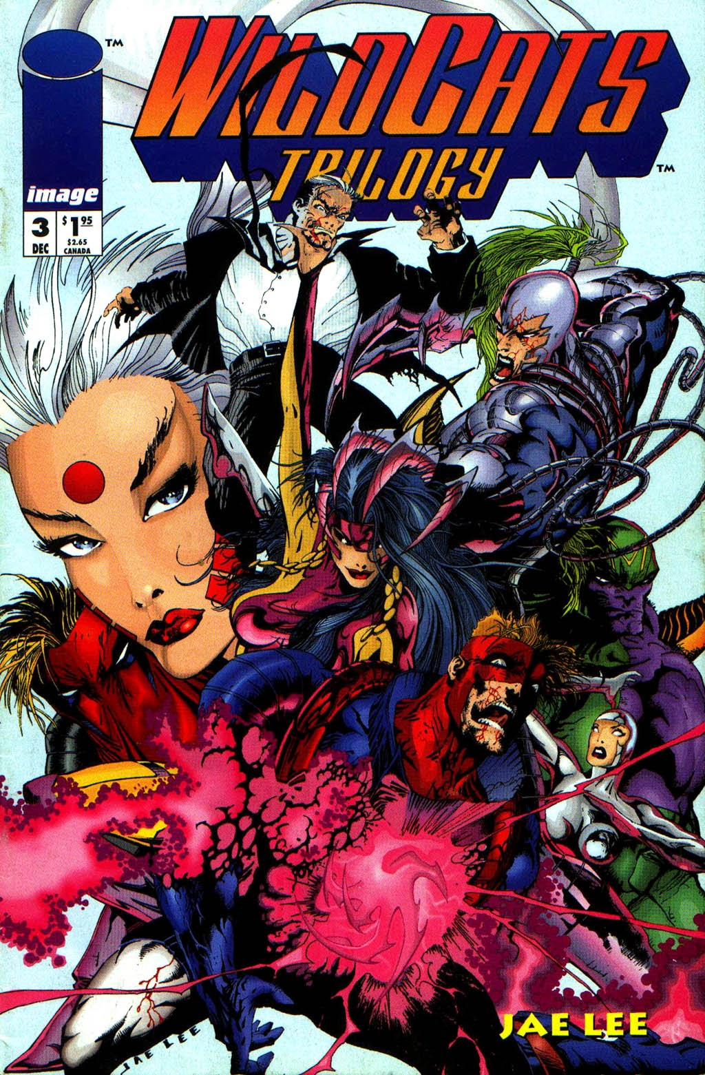 WildC.A.T.s Trilogy 3 Page 1