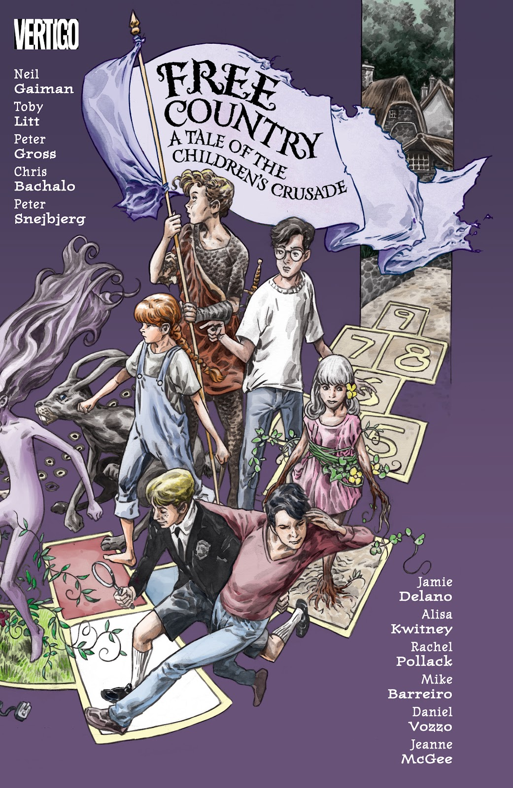 Read online The Children's Crusade comic -  Issue # _TPB (Part 1) - 1