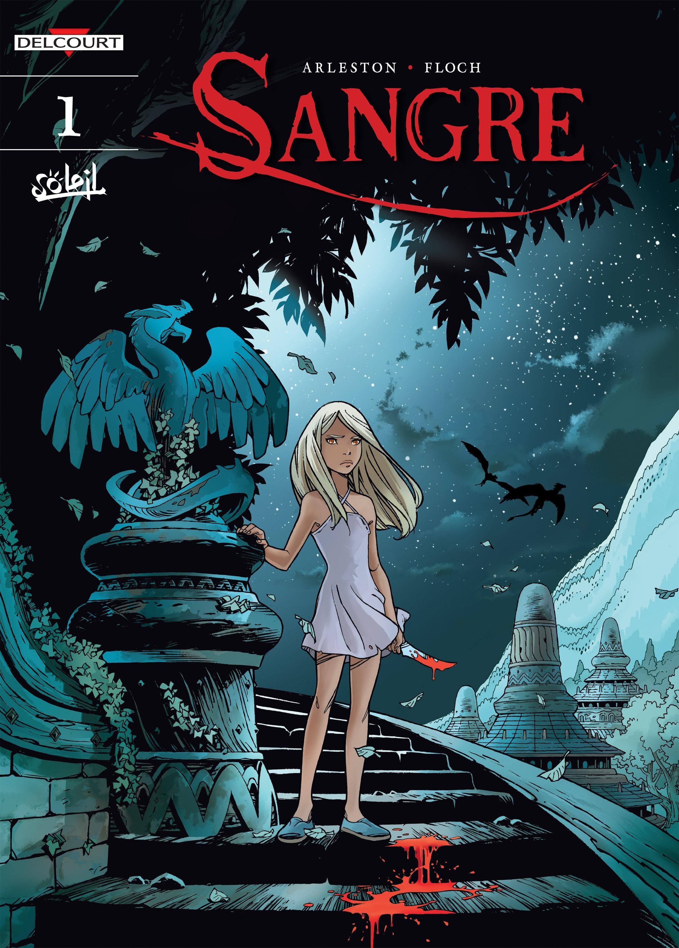 Read online Sangre Vol. 1: Sangre the Survivor comic -  Issue # Full - 1
