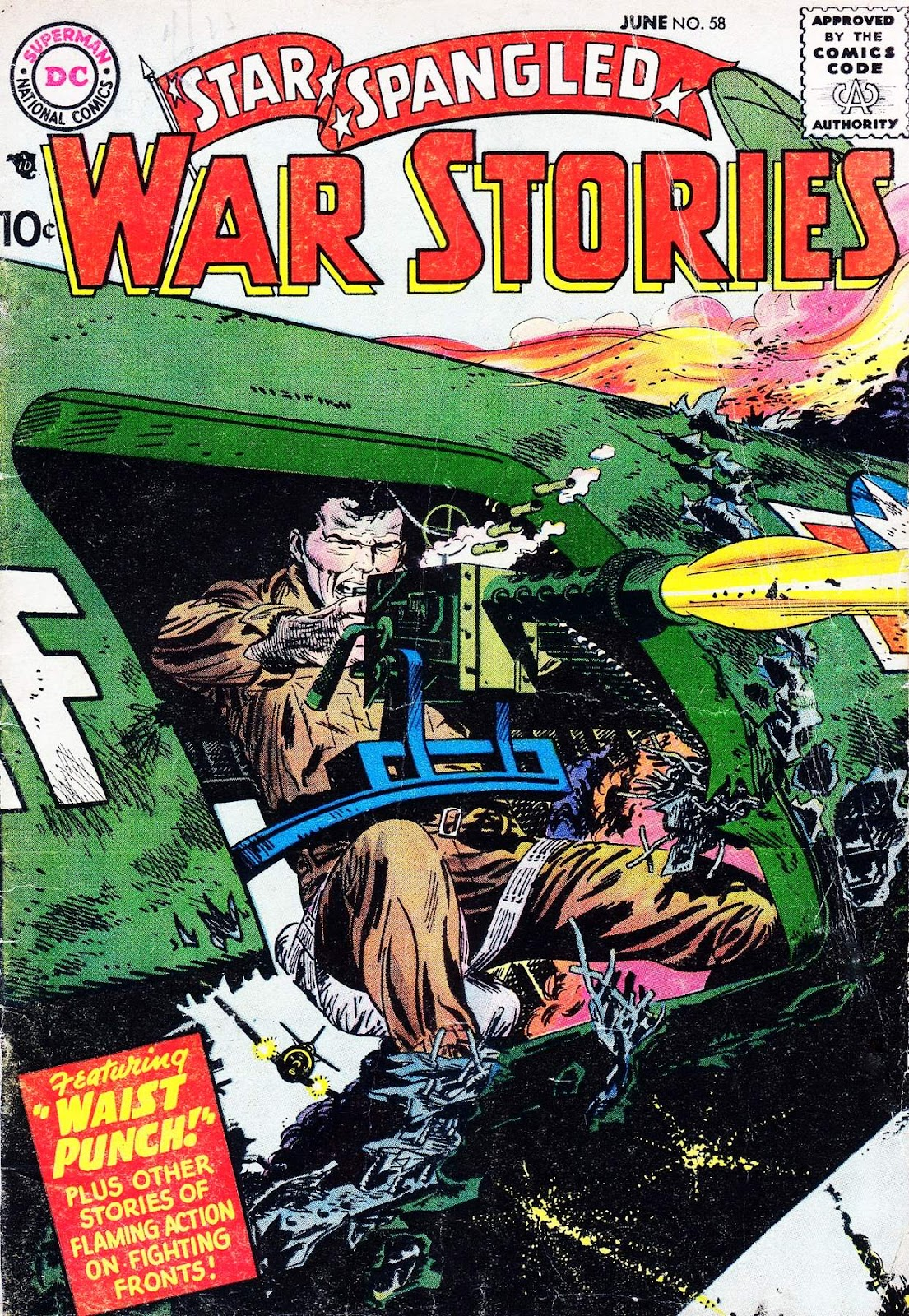 Star Spangled War Stories (1952) issue 58 - Page 1